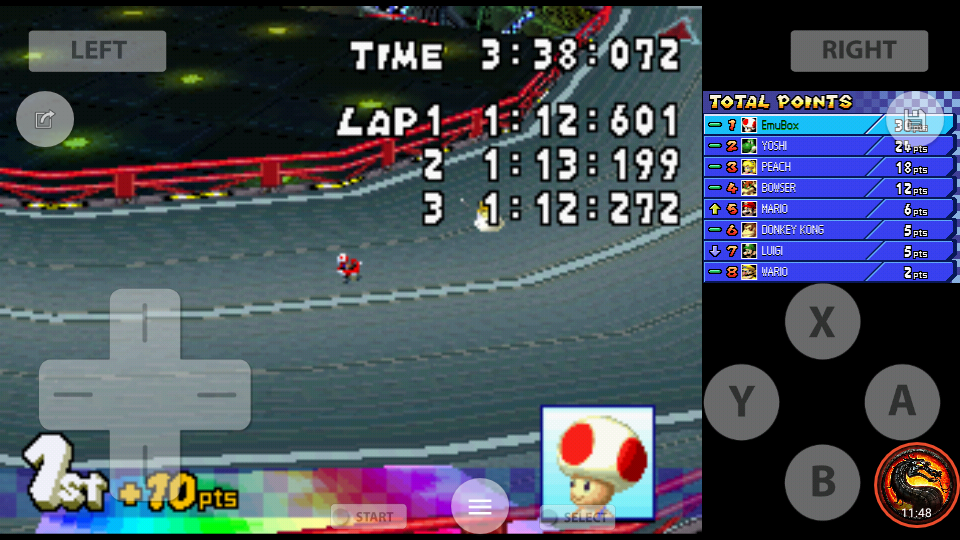 omargeddon: Mario Kart DS: Waluigi Pinball [50cc] [Lap Time] (Nintendo DS Emulated) 0:01:12.272 points on 2020-07-30 19:18:54