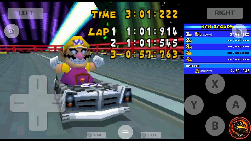 omargeddon: Mario Kart DS: Waluigi Pinball [Time Trial] [Lap Time] (Nintendo DS Emulated) 0:00:57.763 points on 2020-08-01 23:13:30
