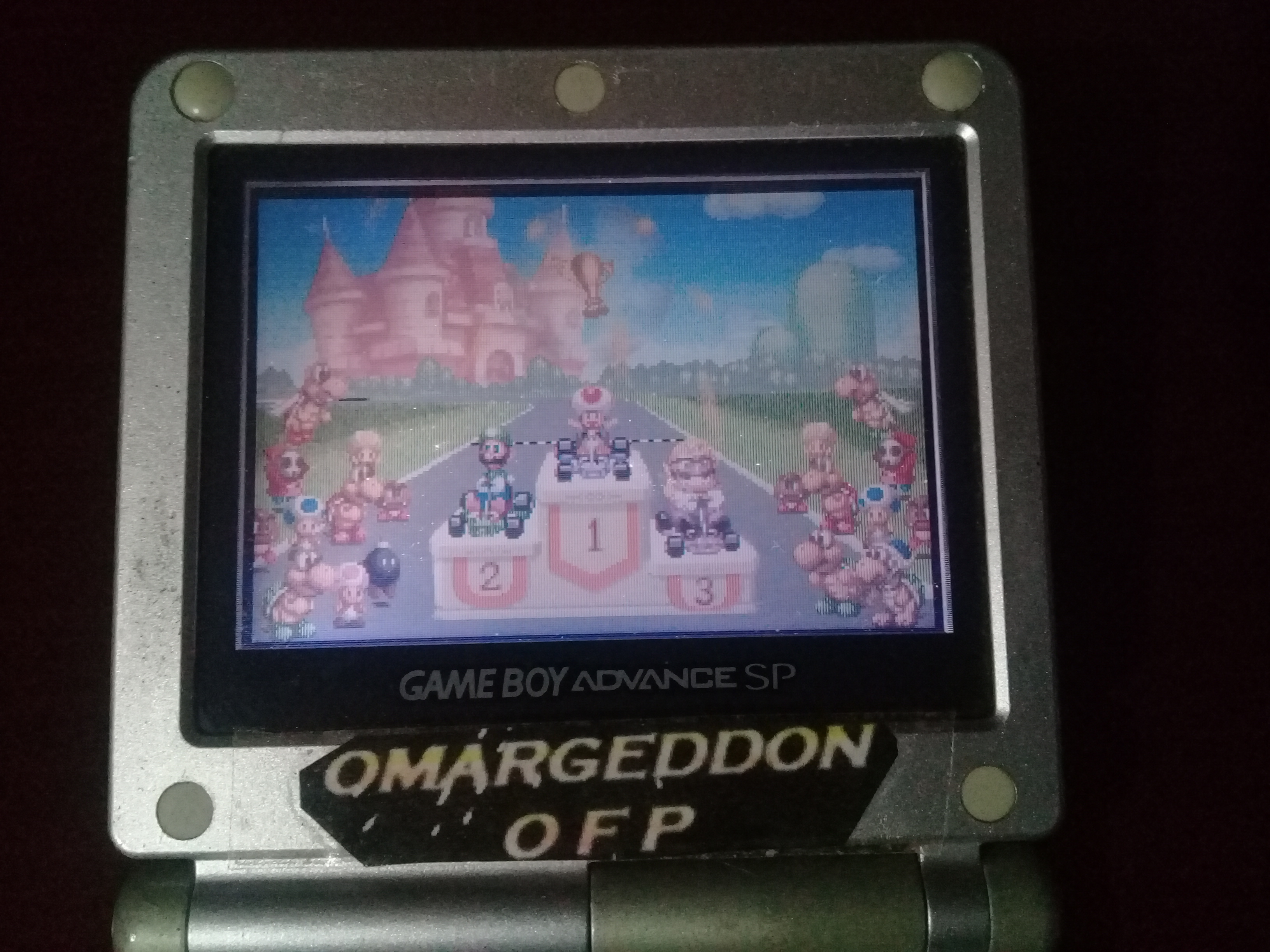 omargeddon: Mario Kart Super Circuit: Bowser Castle 1 [50cc] (GBA) 0:01:11.33 points on 2019-12-14 20:45:46