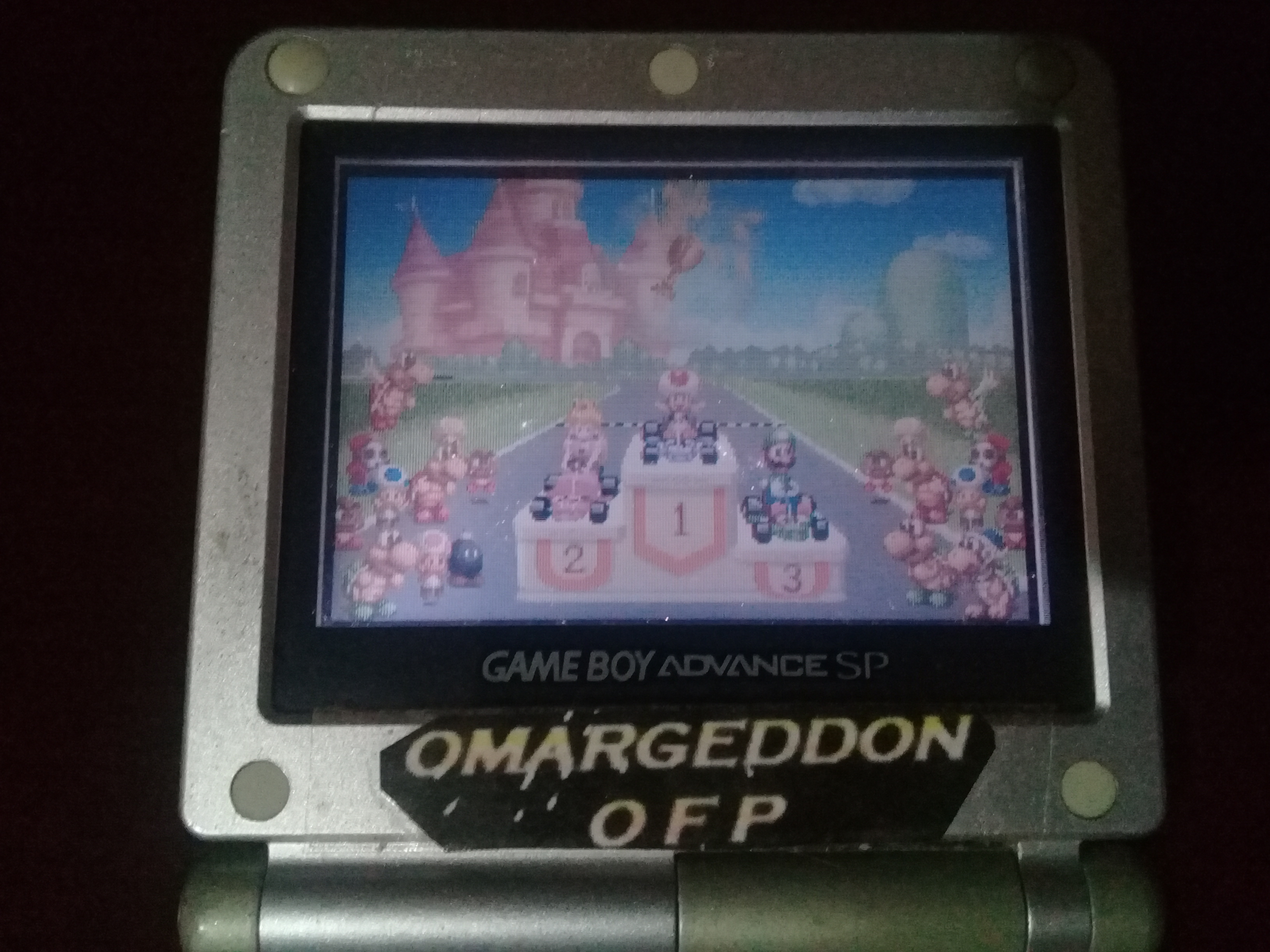omargeddon: Mario Kart Super Circuit: Bowser Castle 1 [50cc] (GBA) 0:01:06.96 points on 2020-06-07 18:46:04