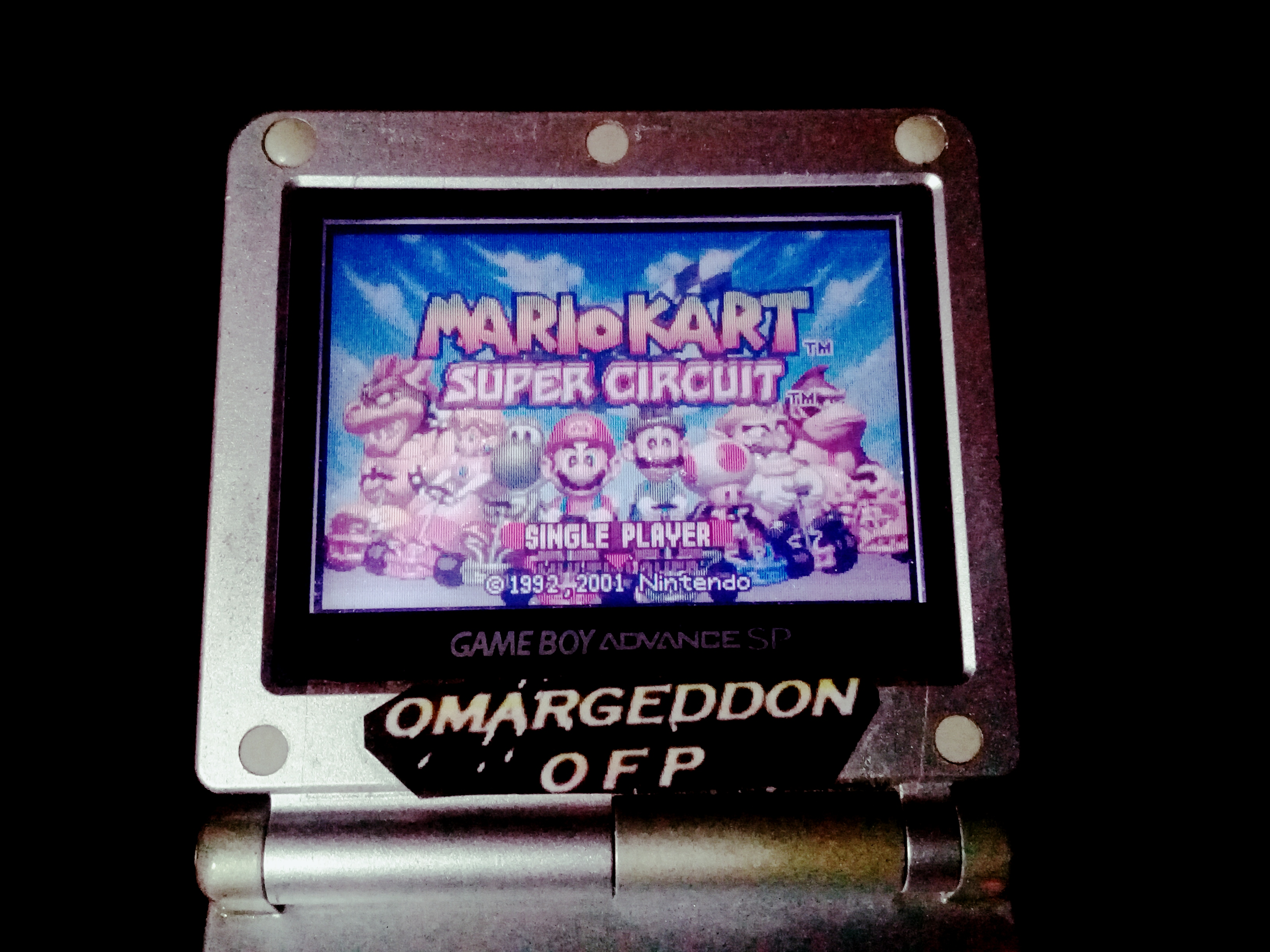 omargeddon: Mario Kart Super Circuit: Bowser Castle 1 [50cc] [Lap Time] (GBA) 0:00:22.57 points on 2019-12-14 21:16:03