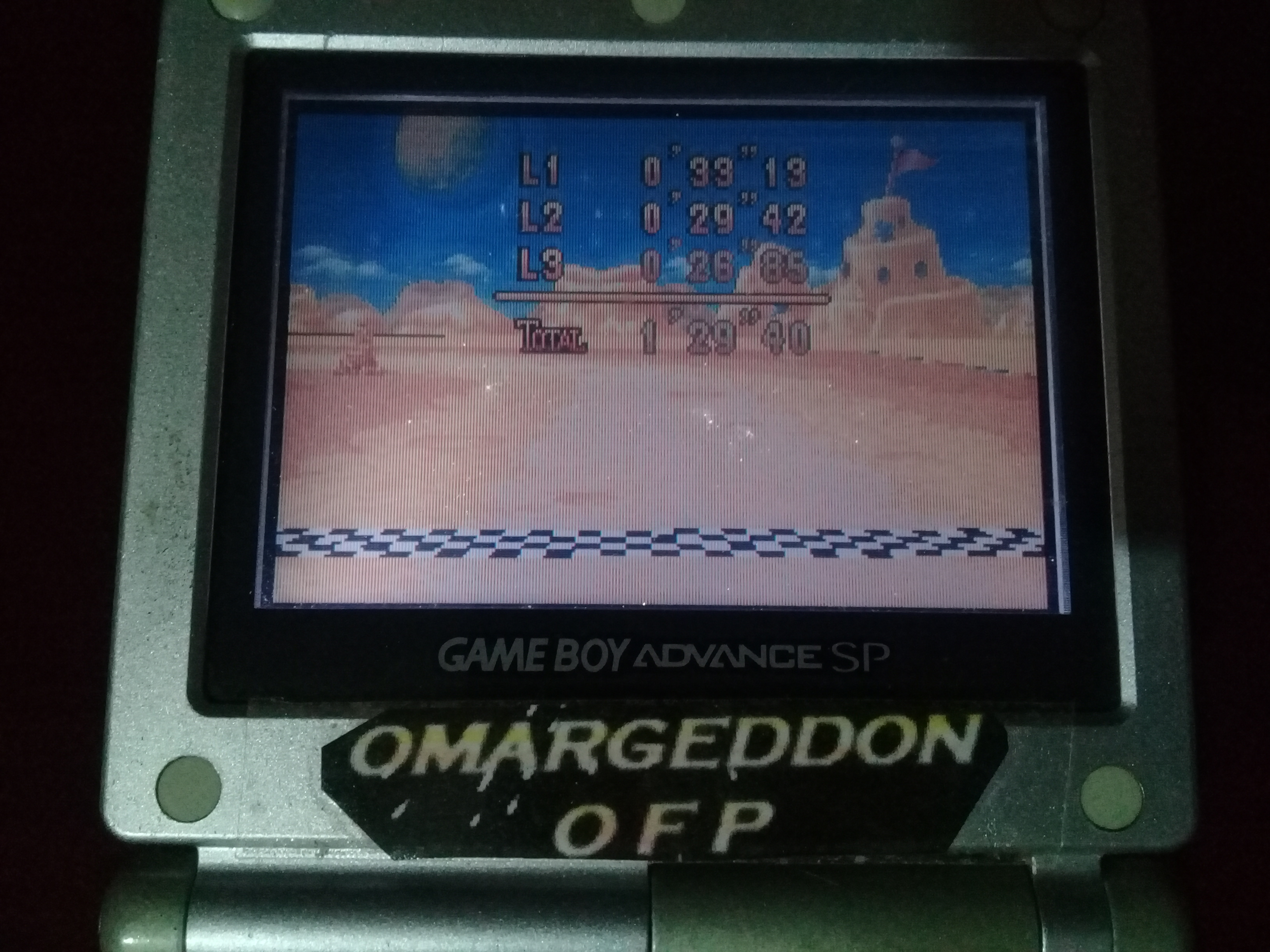 omargeddon: Mario Kart Super Circuit: Cheese Land [Time Trial] [Lap Time] (GBA) 0:00:26.85 points on 2020-06-07 20:44:14