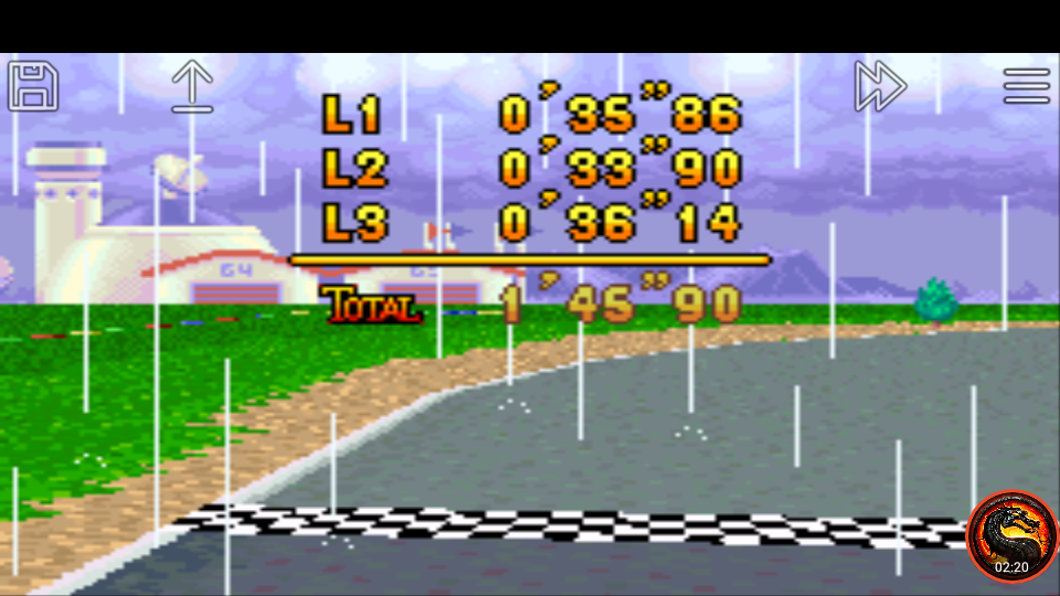 omargeddon: Mario Kart Super Circuit: Luigi Circuit [Time Trial] [Lap Time] (GBA Emulated) 0:00:33.9 points on 2020-06-09 01:09:32