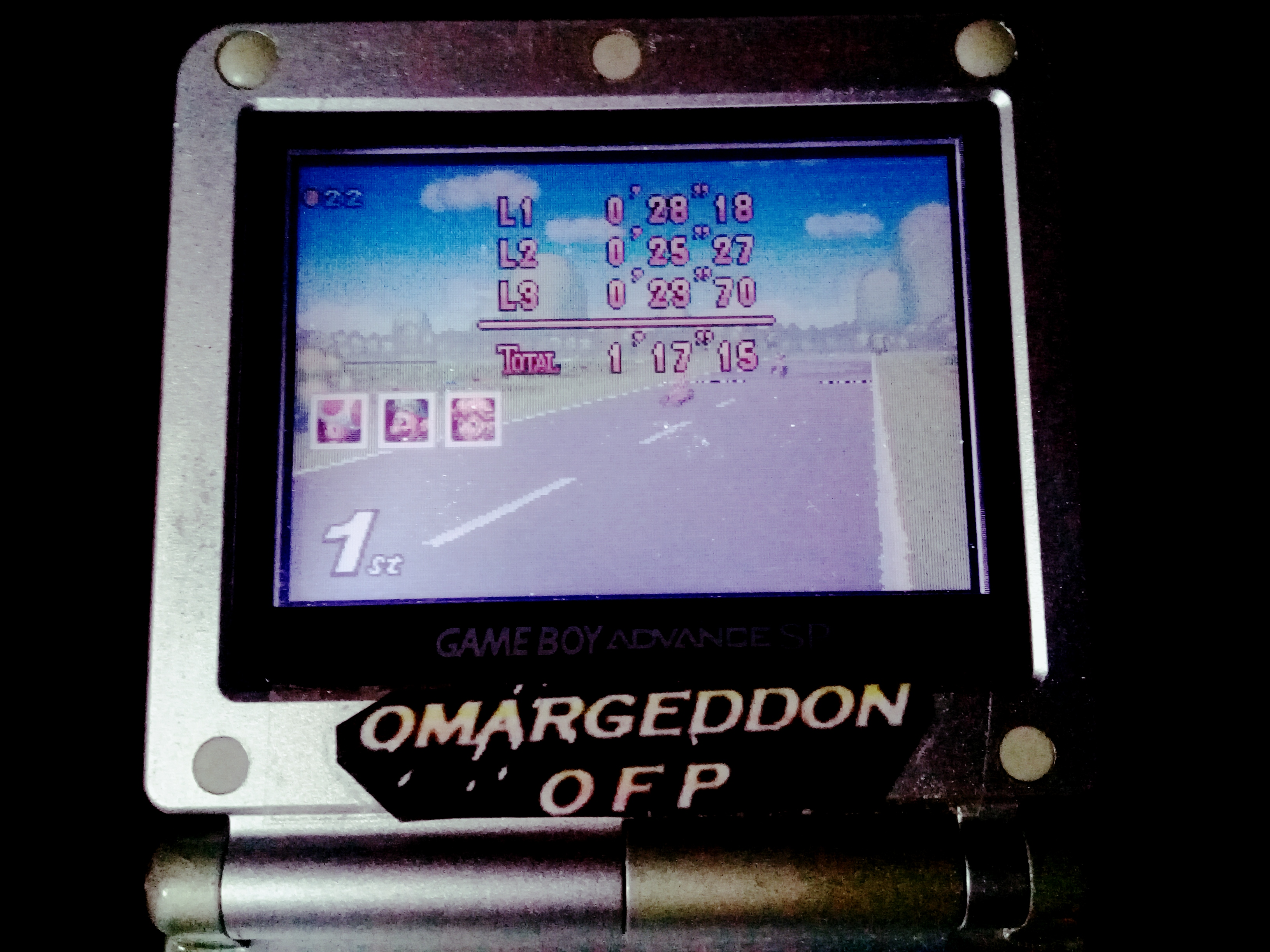 omargeddon: Mario Kart Super Circuit: Peach Circuit [50cc] [Lap Time] (GBA) 0:00:23.7 points on 2019-12-14 20:30:46