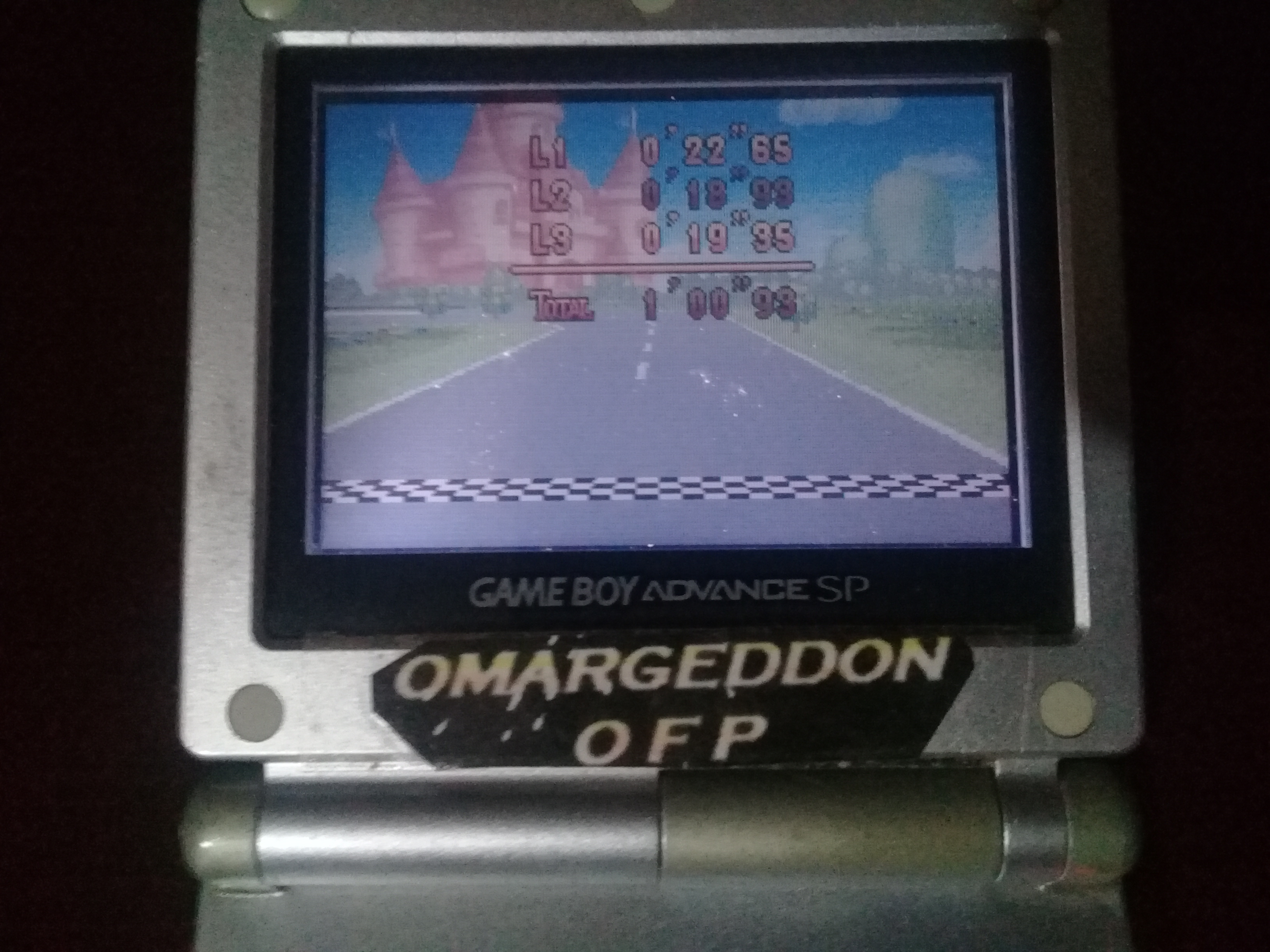 omargeddon: Mario Kart Super Circuit: Peach Circuit [Time Trial] [Lap Time] (GBA) 0:00:18.93 points on 2020-06-07 19:10:27