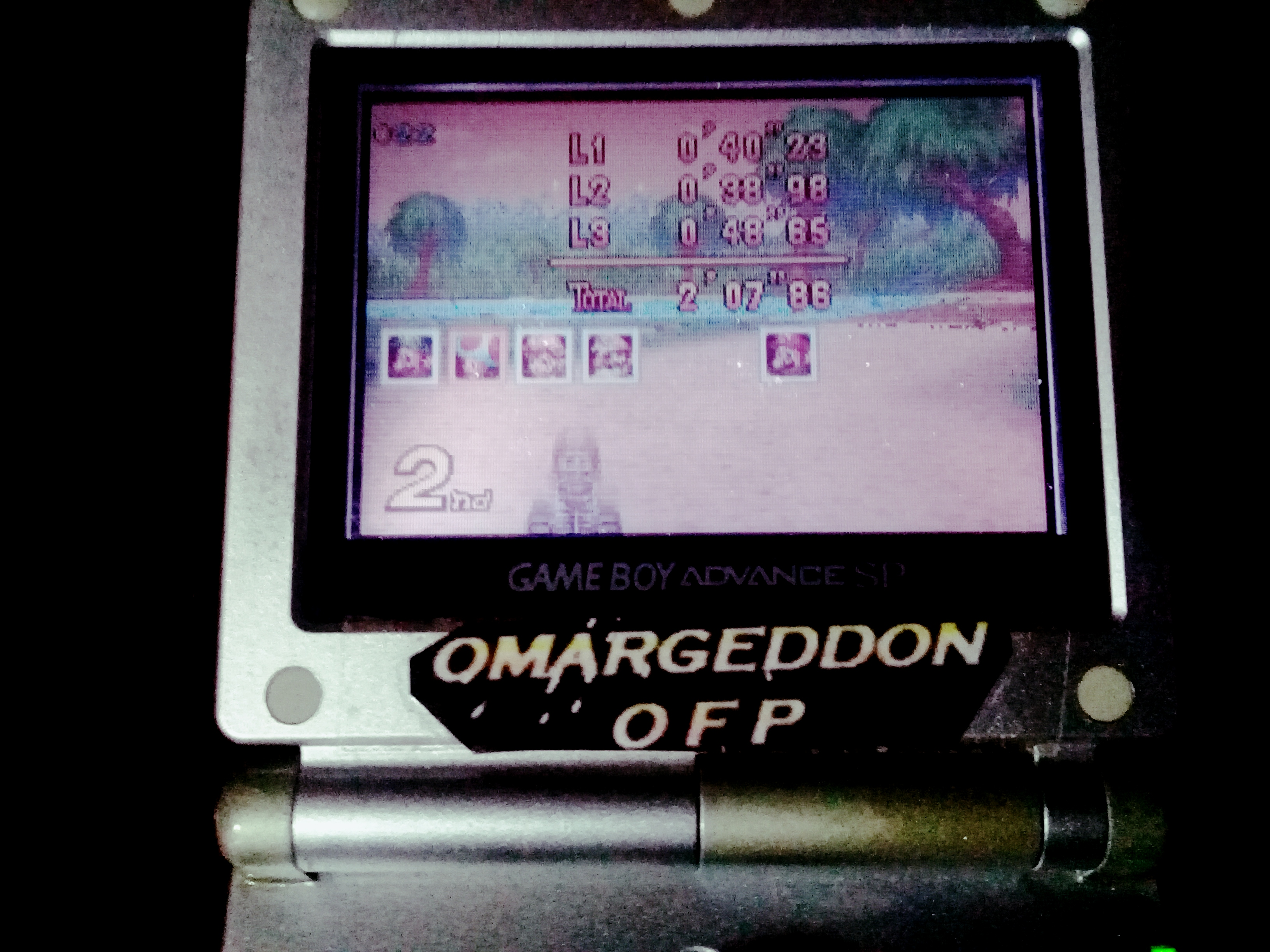 omargeddon: Mario Kart Super Circuit: Riverside Park [50cc] [Lap Time] (GBA) 0:00:38.98 points on 2019-12-14 20:41:10