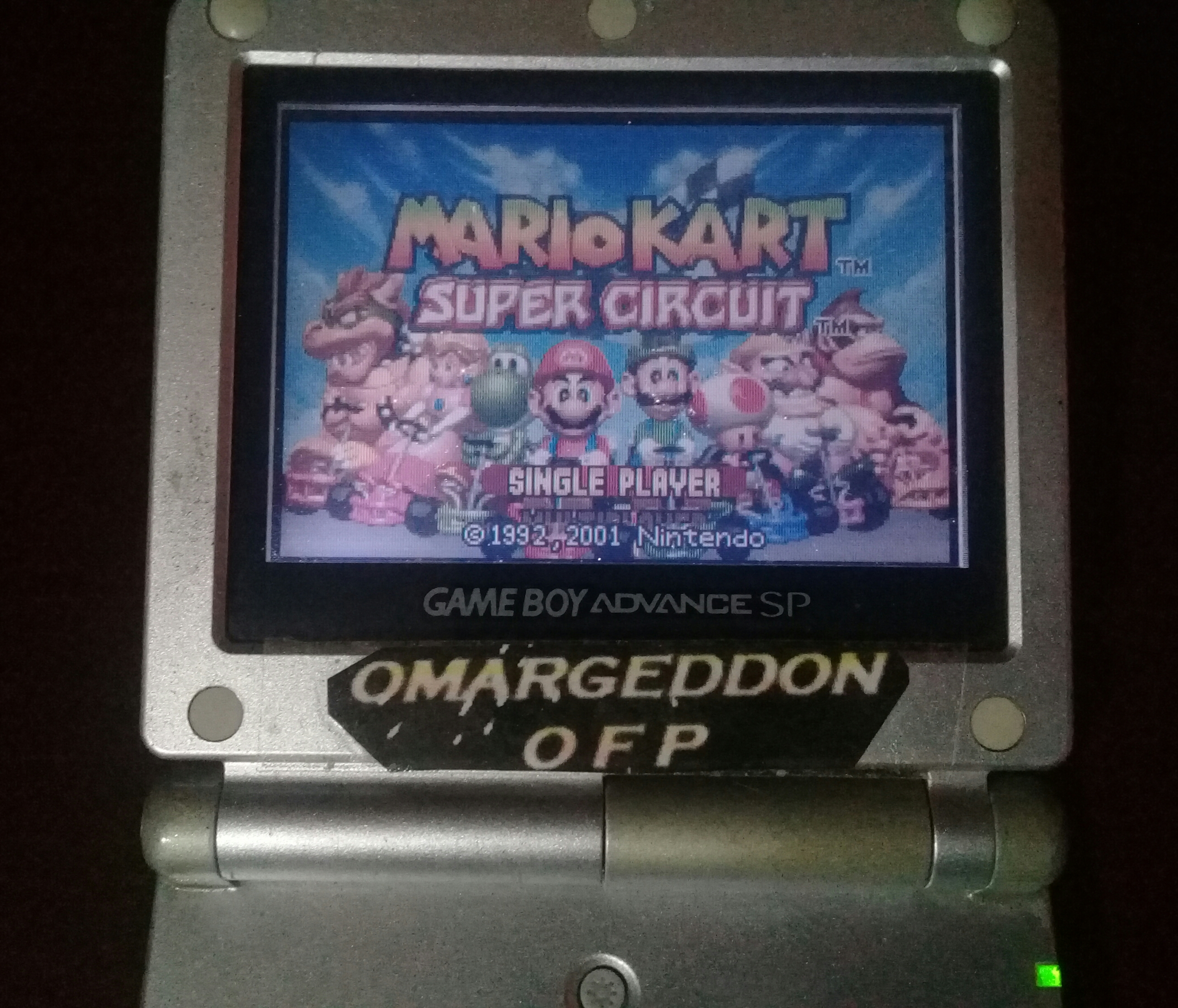 omargeddon: Mario Kart Super Circuit: Sky Garden [Time Trial] [Lap Time] (GBA) 0:00:27.26 points on 2020-06-14 13:18:16