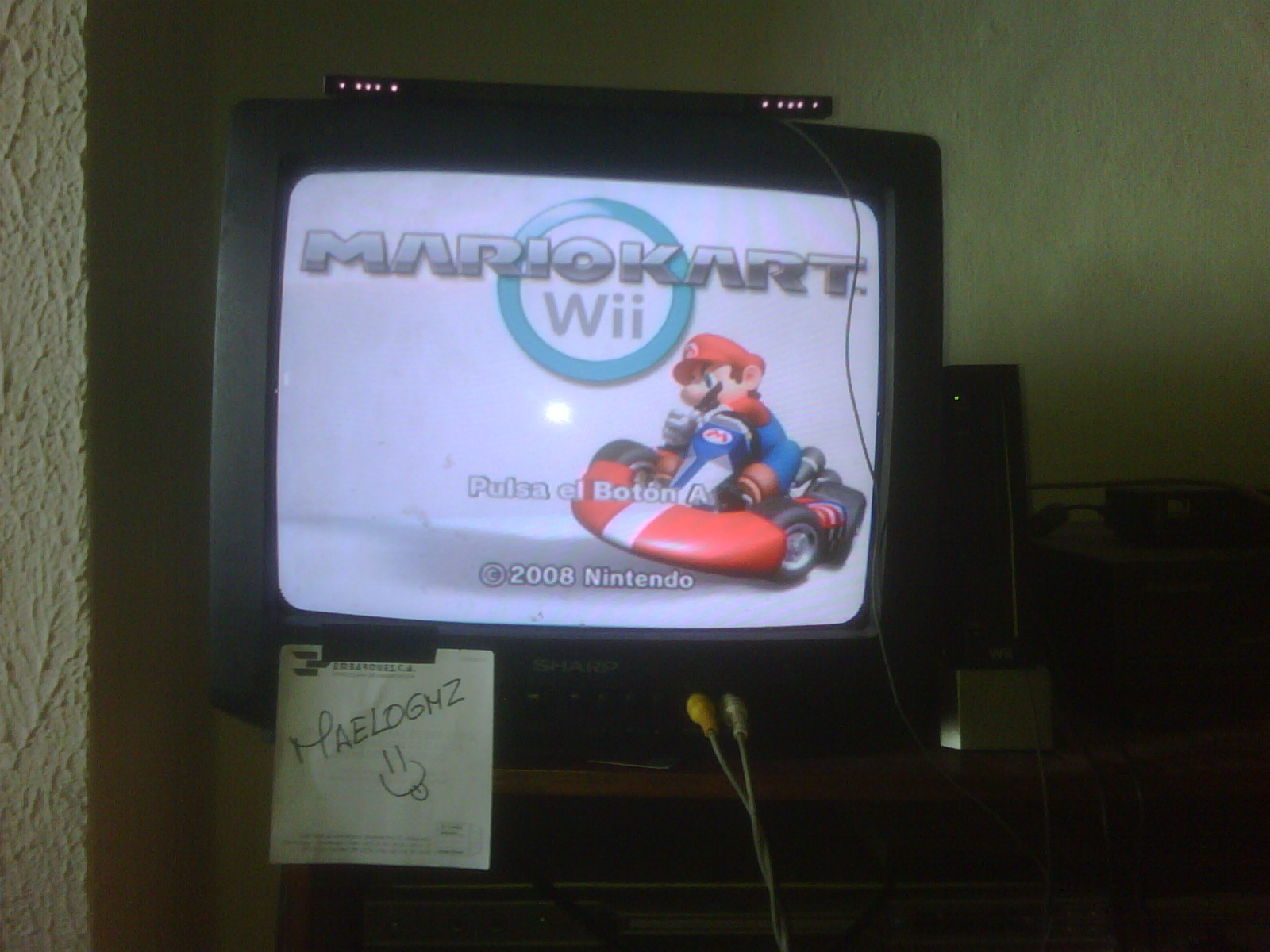 maelogmz: Mario Kart Wii: Time Trials: Luigi Circuit [Best Time] (Wii) 0:01:23.037 points on 2016-09-26 10:55:54