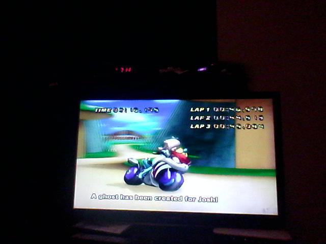 DrJoshDaRealGamer22H: Mario Kart Wii: Time Trials: Mushroom Gorge [Best Lap] (Wii) 0:02:16.175 points on 2018-10-28 19:25:03