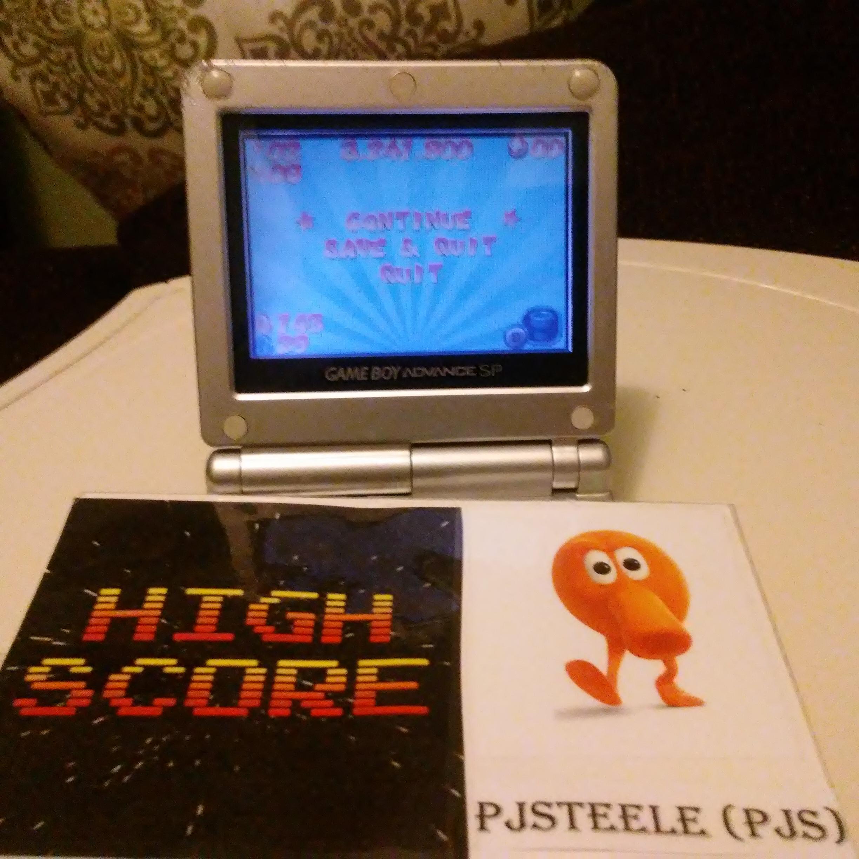 Pjsteele: Mario Pinball Land (GBA) 3,241,800 points on 2017-05-21 17:09:09