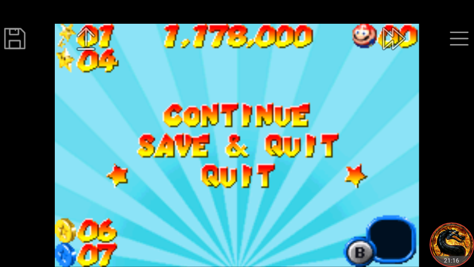 omargeddon: Mario Pinball Land (GBA Emulated) 1,178,000 points on 2018-11-09 02:47:49
