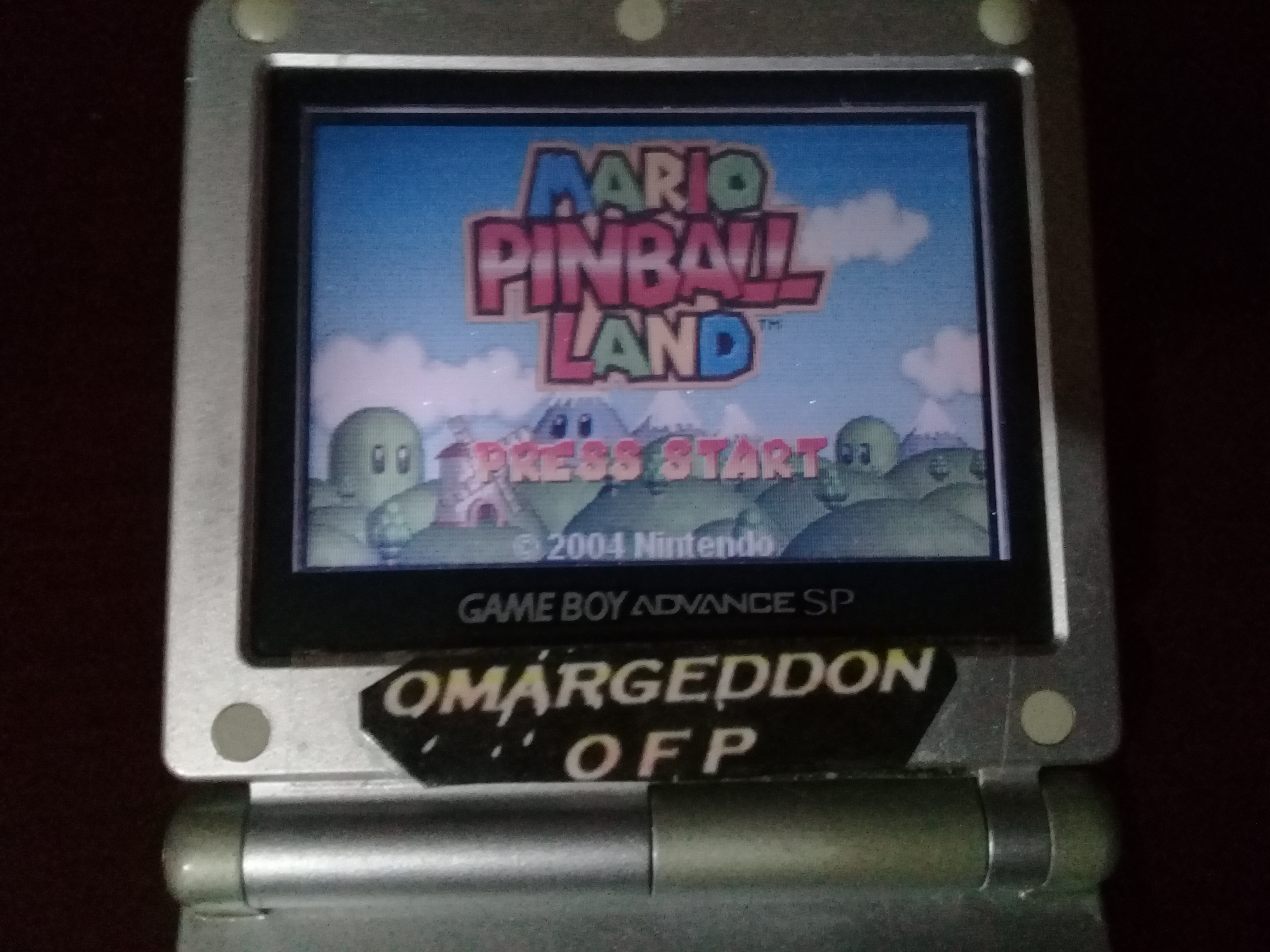 Mario Pinball Land 2,025,600 points