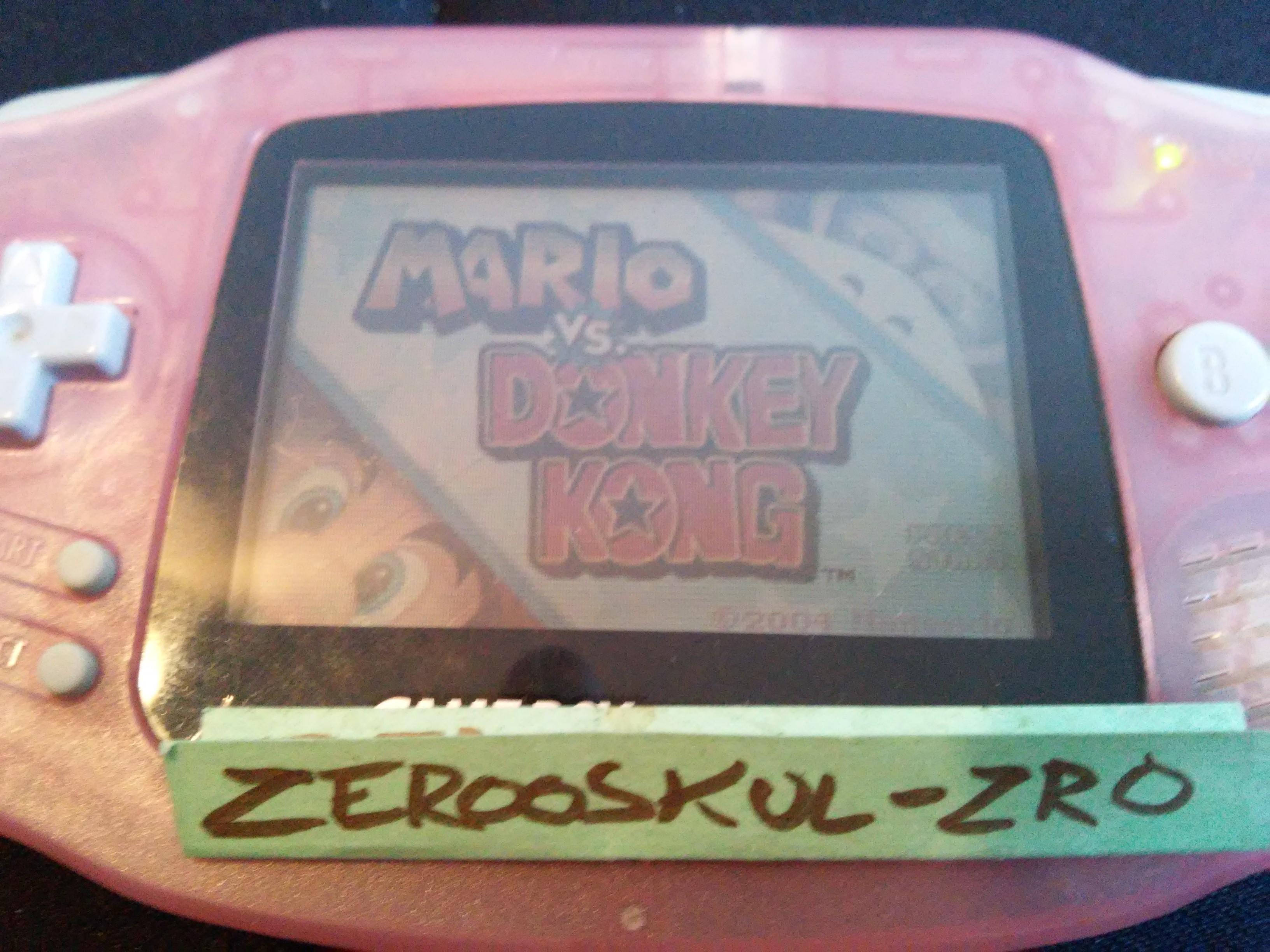 Mario Vs. Donkey Kong: Level 1-4 33,200 points