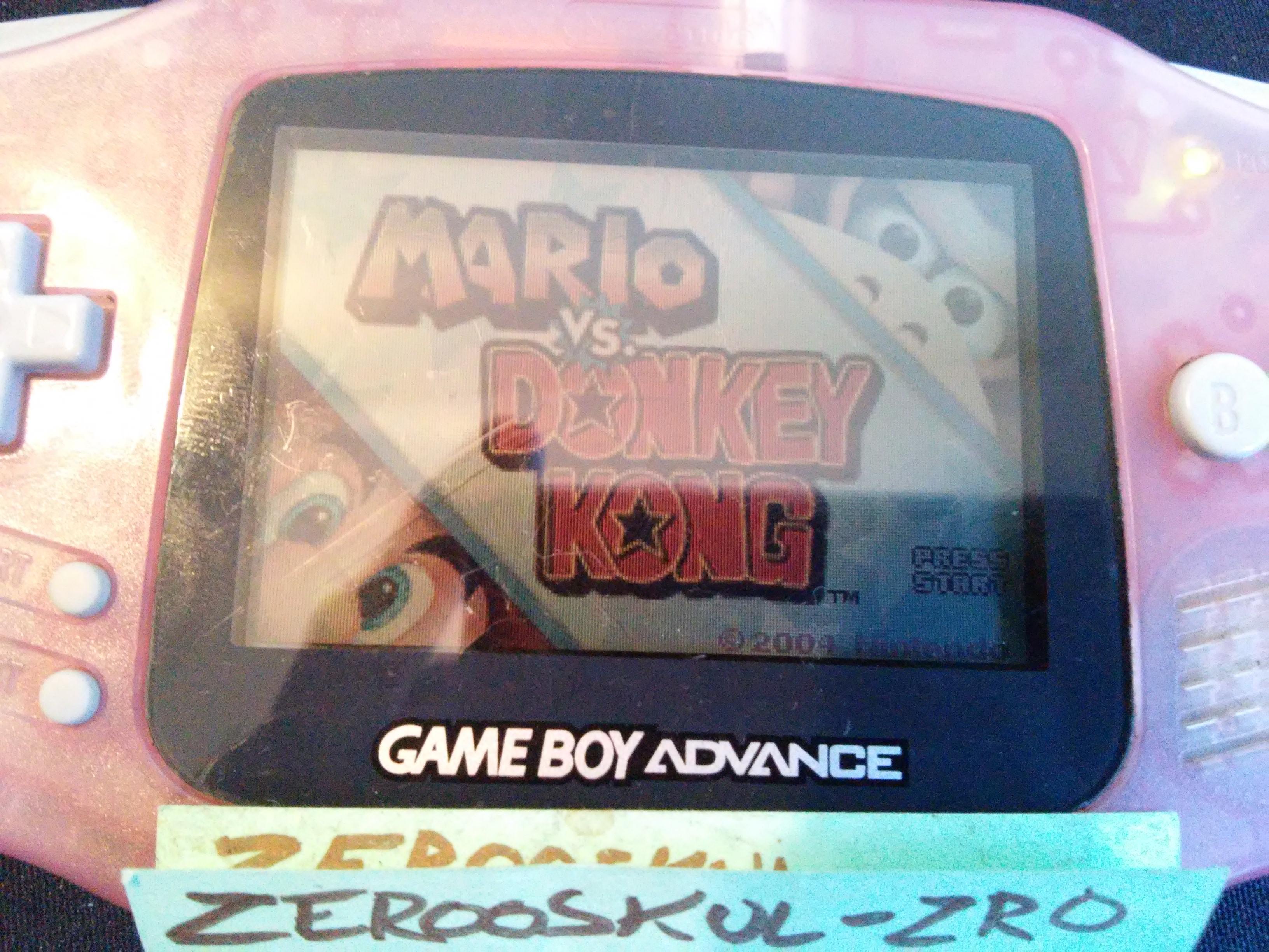 zerooskul: Mario Vs. Donkey Kong: Level 1-6 (GBA) 32,250 points on 2018-09-23 15:41:03