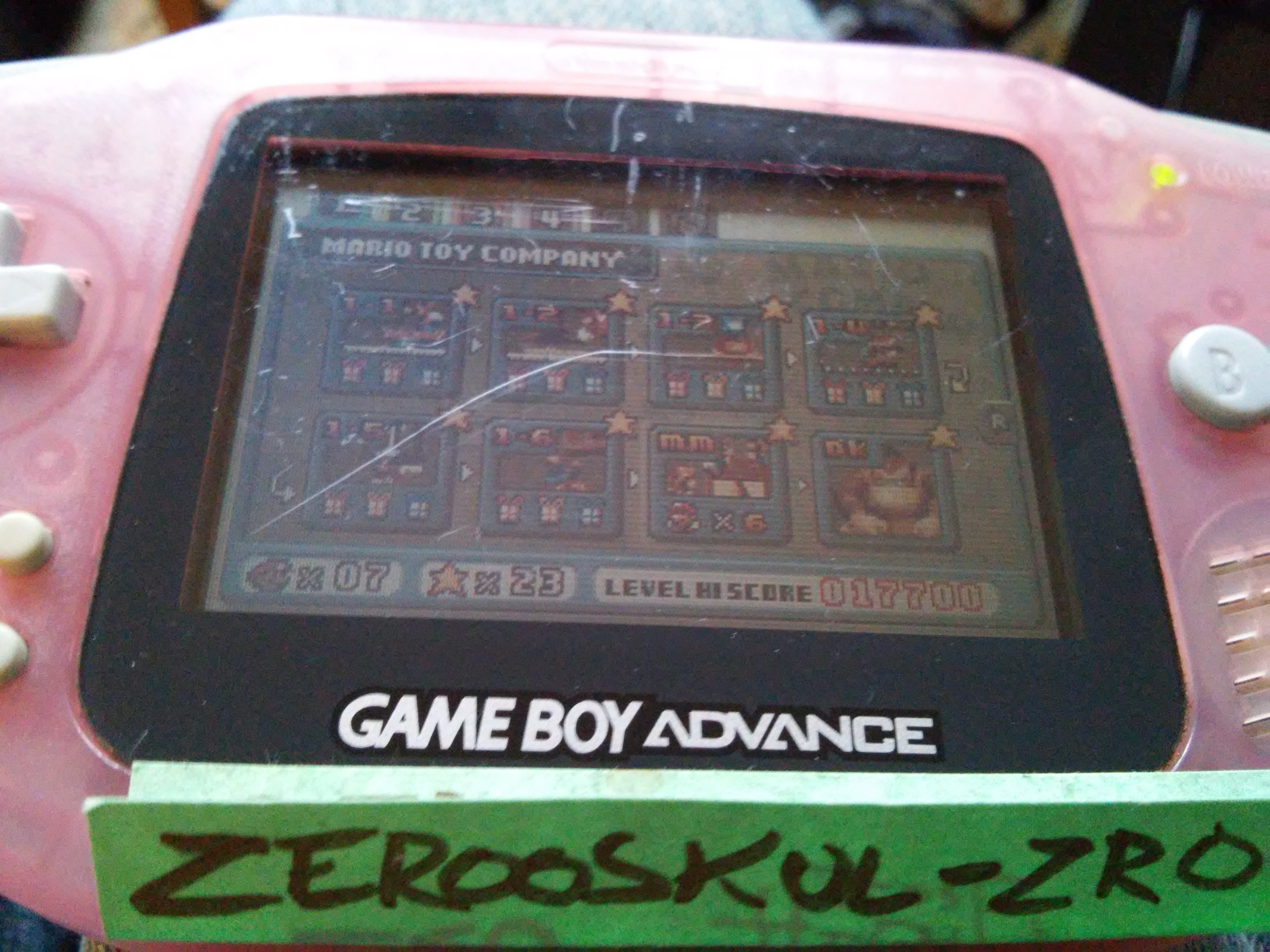 zerooskul: Mario Vs. Donkey Kong: Level 1-MM (GBA) 17,700 points on 2018-09-24 09:46:29