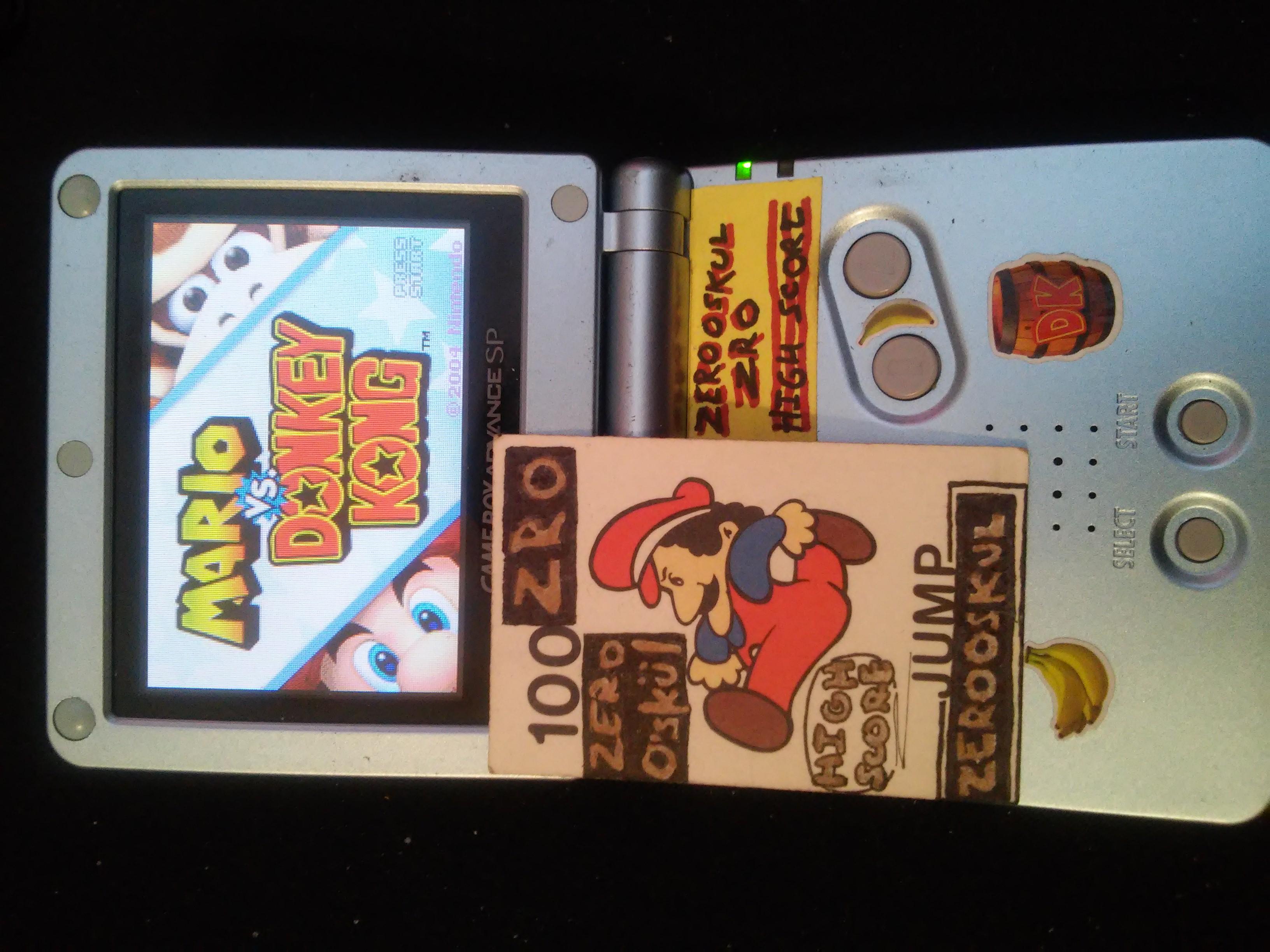 Mario Vs. Donkey Kong: Level 4-1 29,200 points
