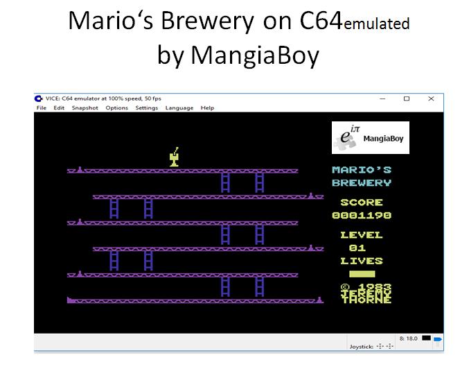 MangiaBoy: Mario