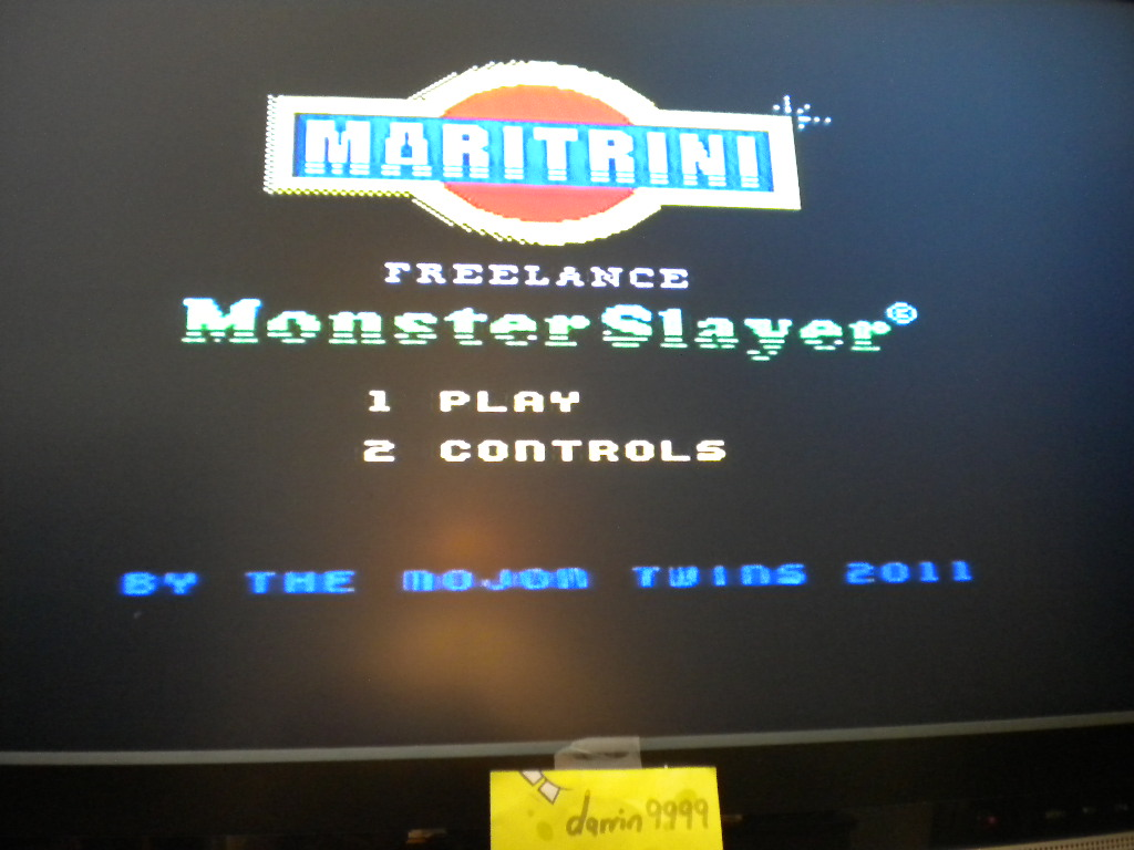 darrin9999: Maritrini, Freelance Monster Slayer (ZX Spectrum Emulated) 3,192 points on 2016-08-14 13:34:35