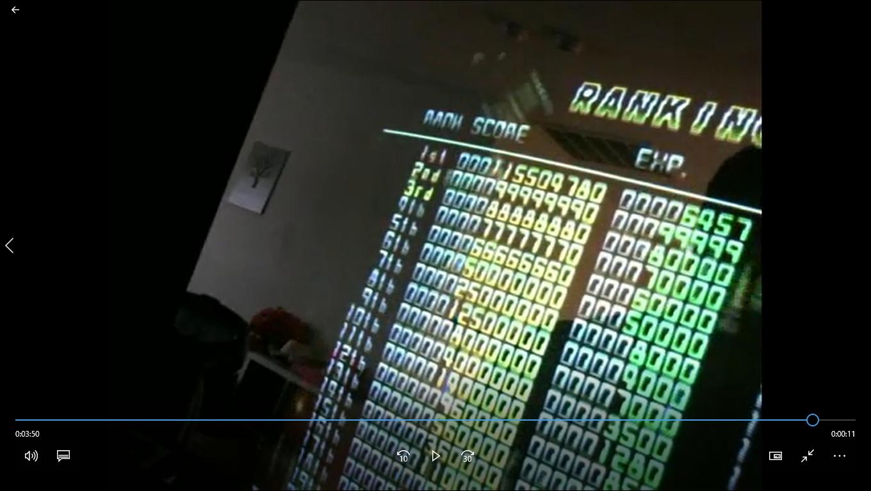 Mars Matrix: Hyper Solid Shooting 115,504,780 points
