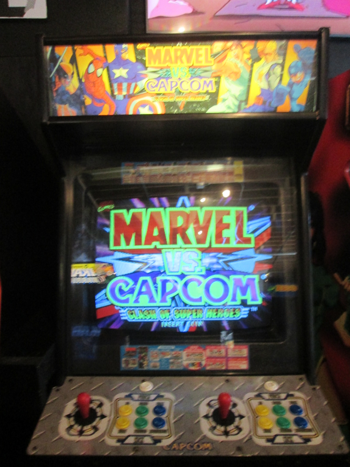 ed1475: Marvel vs. Capcom: Clash of Super Heroes (Arcade) 123,600 points on 2016-09-18 15:20:36