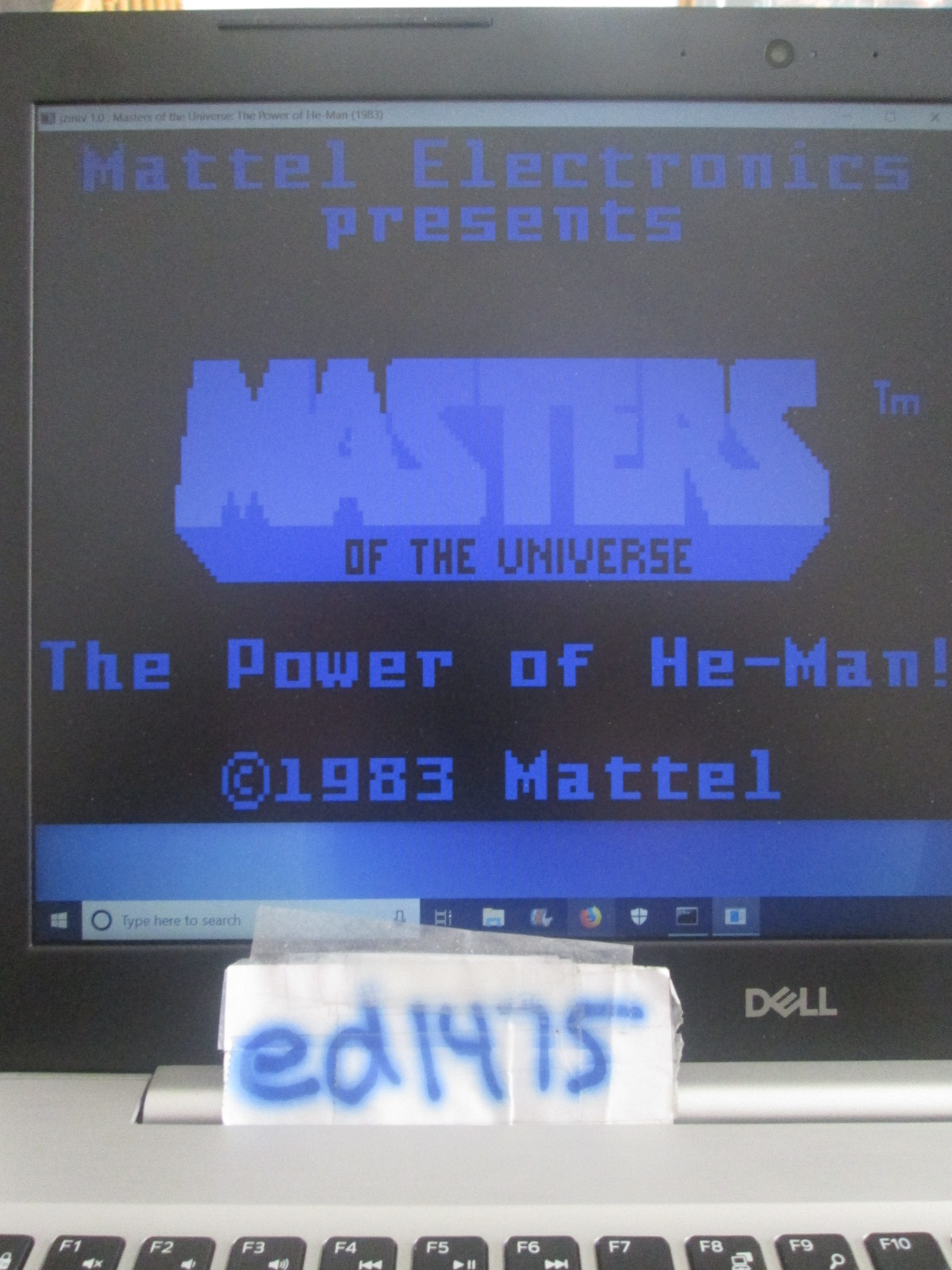 ed1475: Masters of the Universe: Skill 1 (Intellivision Emulated) 54,400 points on 2018-10-18 20:37:12