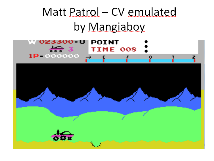 MangiaBoy: Matt Patrol [Beginner] (Colecovision Emulated) 23,300 points on 2015-12-26 20:48:08