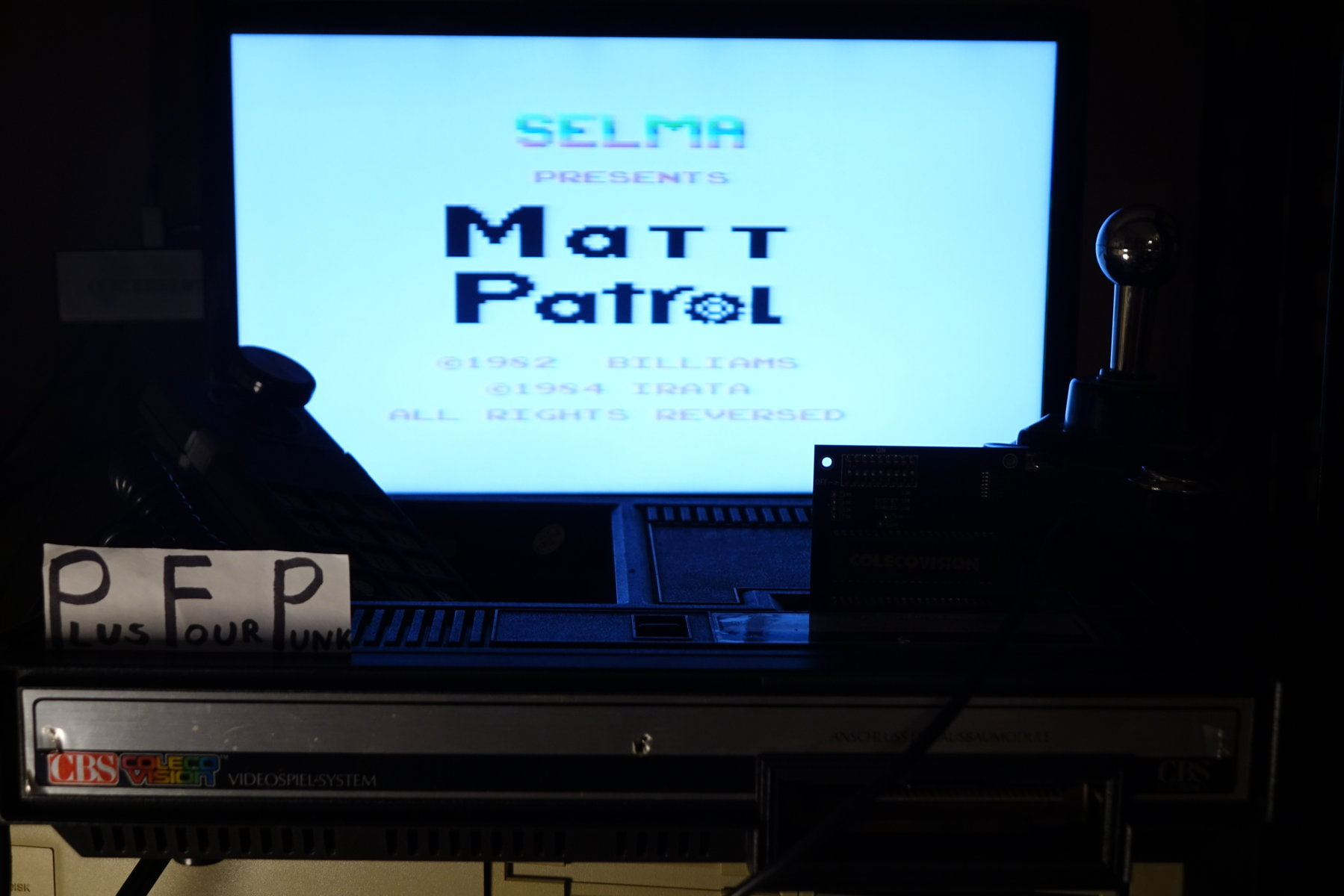 plus4punk: Matt Patrol [Beginner] (Colecovision) 11,950 points on 2020-03-09 16:46:47