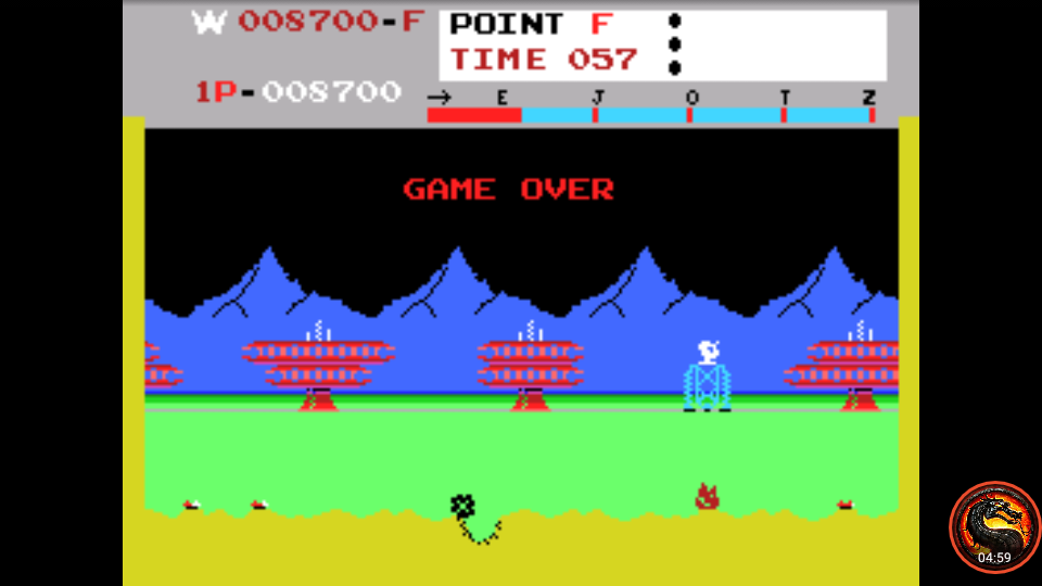 omargeddon: Matt Patrol [Champion] (Colecovision Emulated) 8,700 points on 2020-07-30 21:42:42