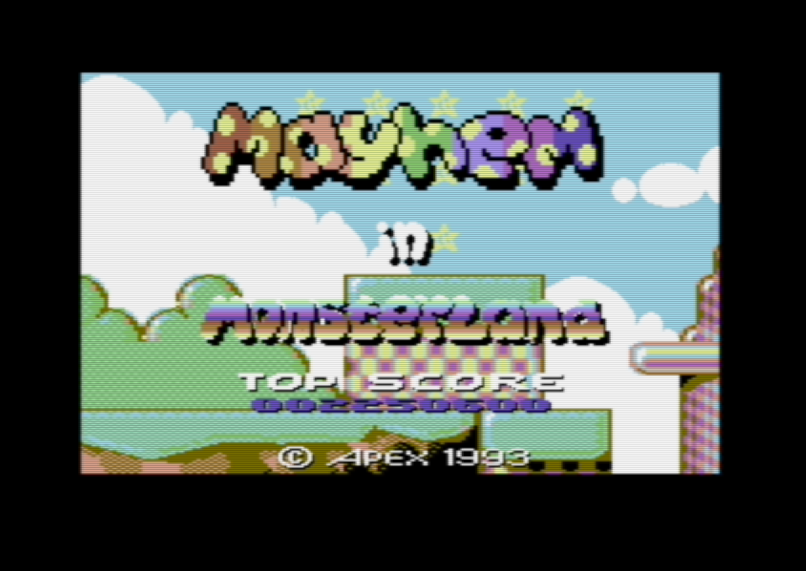 Hyeron: Mayhem in Monsterland (Commodore 64 Emulated) 2,250,600 points on 2019-06-09 14:39:58
