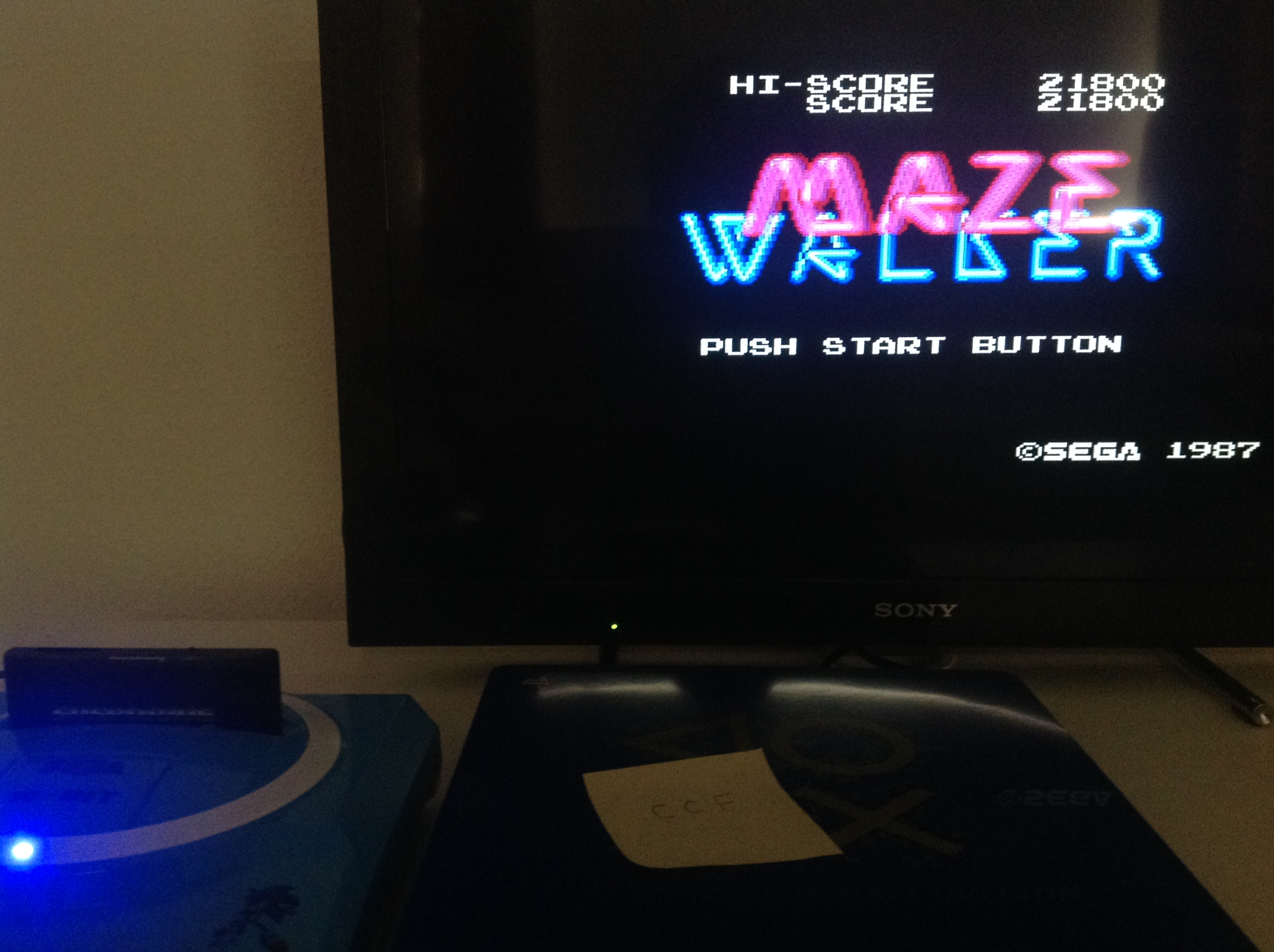 CoCoForest: Maze Walker (Sega Master System) 21,800 points on 2018-07-23 08:51:07