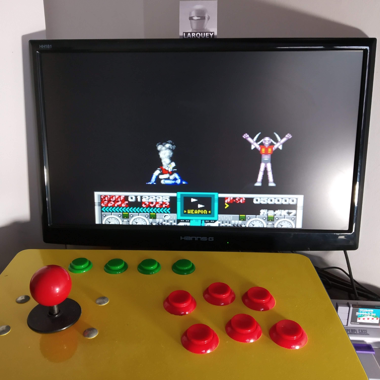 Larquey: Mazinger Z (SNES/Super Famicom Emulated) 12,295 points on 2020-09-07 02:36:51