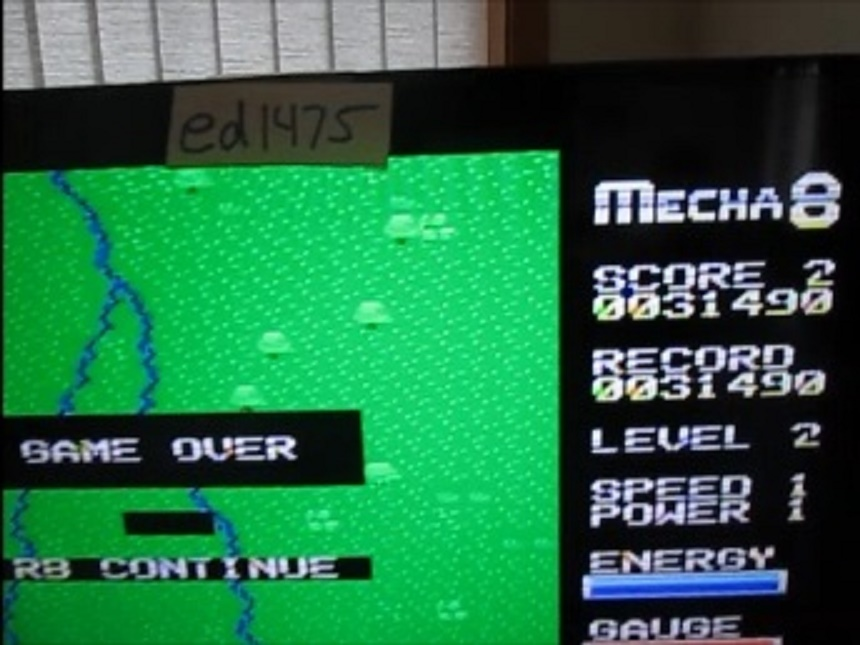 ed1475: Mecha 8 [Veteran] (Colecovision Flashback) 31,490 points on 2016-05-11 15:49:44
