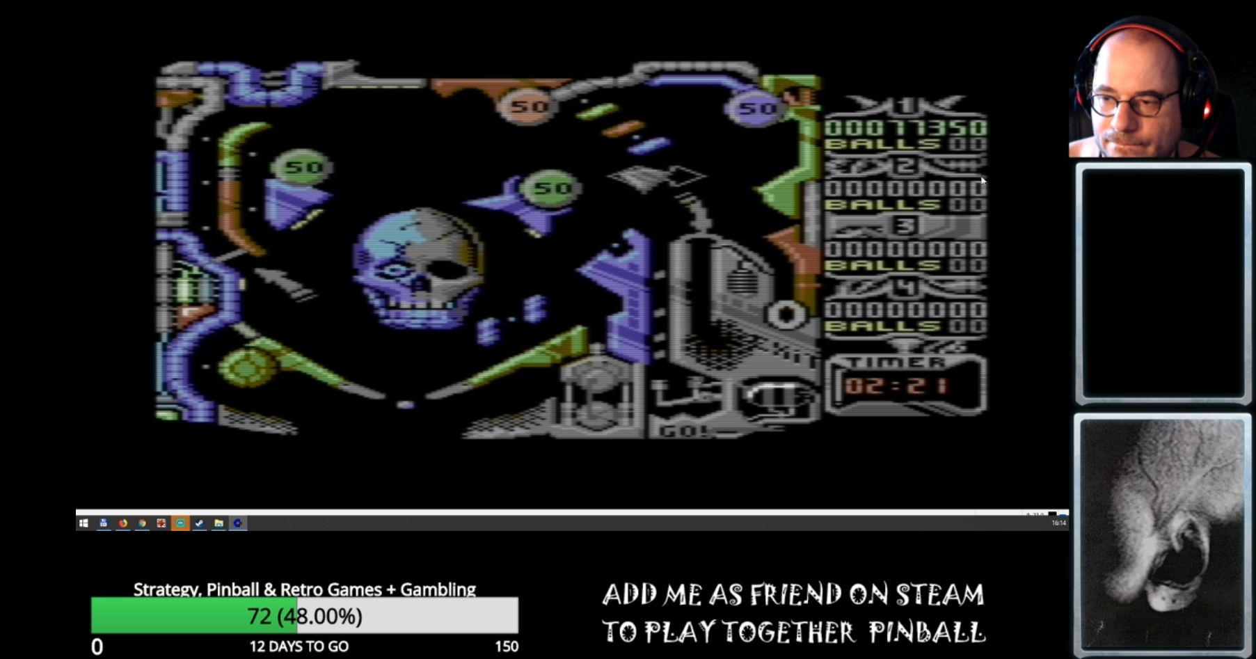 CAC1QU3: Mechanicus (Commodore 64 Emulated) 77,350 points on 2019-03-19 10:59:00