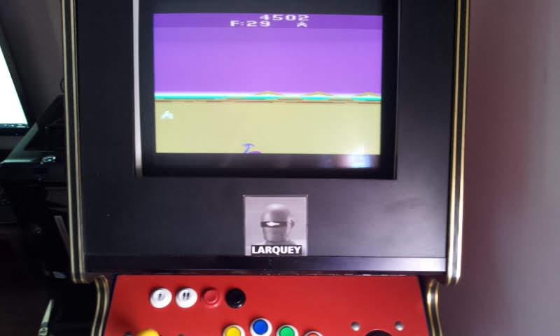 Larquey: Mega Force (Atari 2600 Emulated Novice/B Mode) 4,502 points on 2018-06-14 14:12:19
