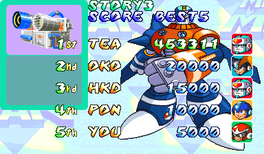 GAMES: Mega Man 2: The Power Fighters (Arcade) 463,311 points on 2020-02-16 02:33:24