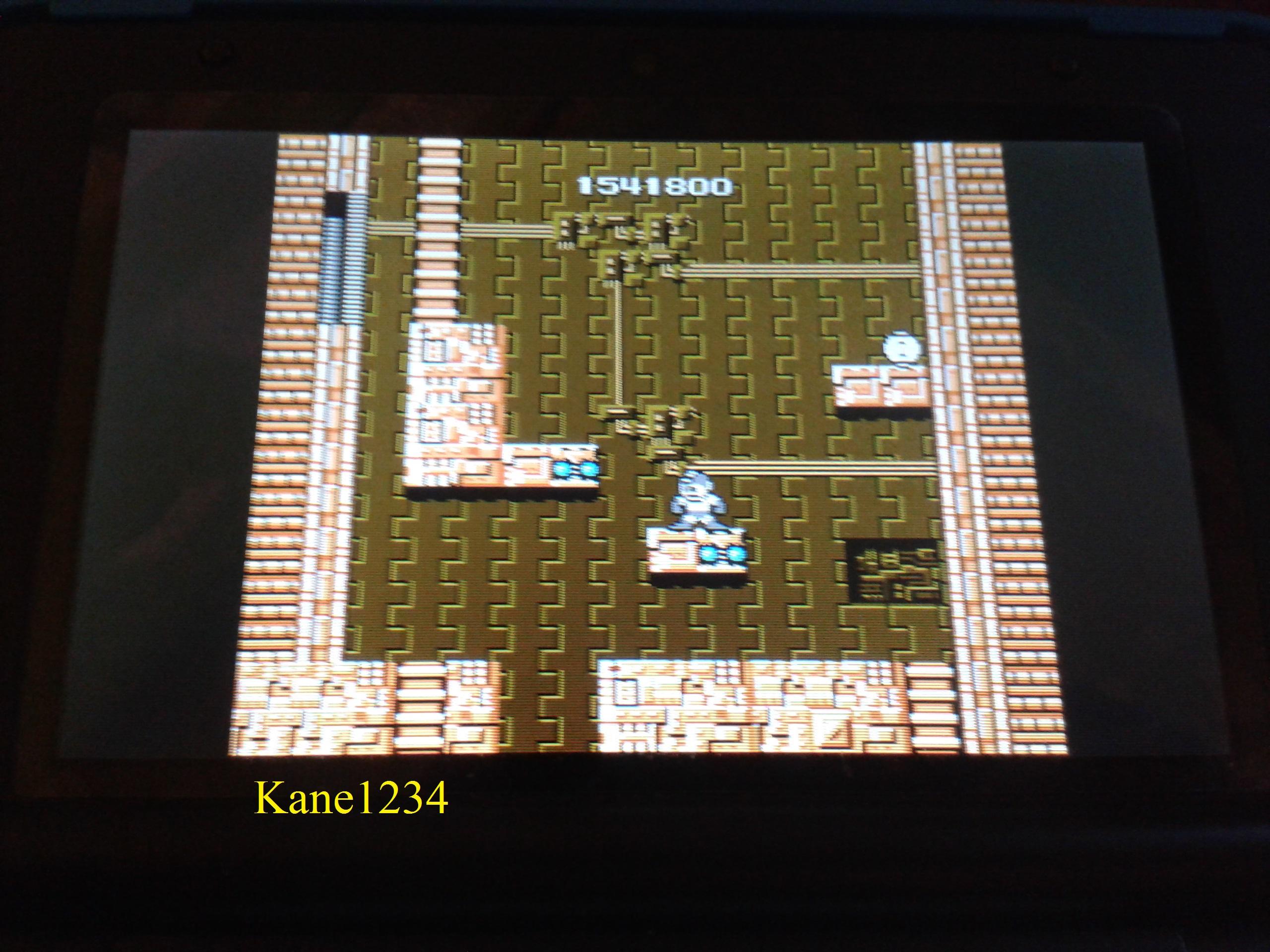 Kane1234: Mega Man (NES/Famicom Emulated) 1,541,800 points on 2015-12-18 21:31:17