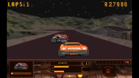ed1475: MegaRace: Hardened (PC Emulated / DOSBox) 27,880 points on 2016-10-27 18:28:13