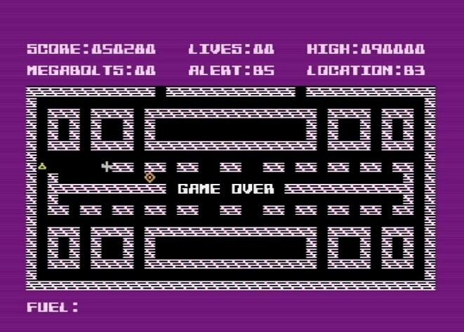 LuigiRuffolo: Megabolts (Commodore 16/Plus4 Emulated) 50,280 points on 2020-12-25 04:12:41