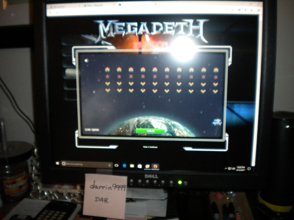 darrin9999: Megadeth Invasion (Web) 1,960 points on 2018-03-12 09:43:57