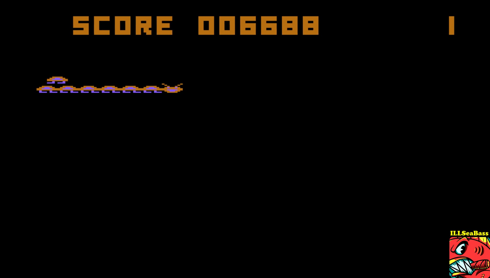 ILLSeaBass: Megalegs (Atari 400/800/XL/XE Emulated) 6,688 points on 2017-06-24 12:10:47