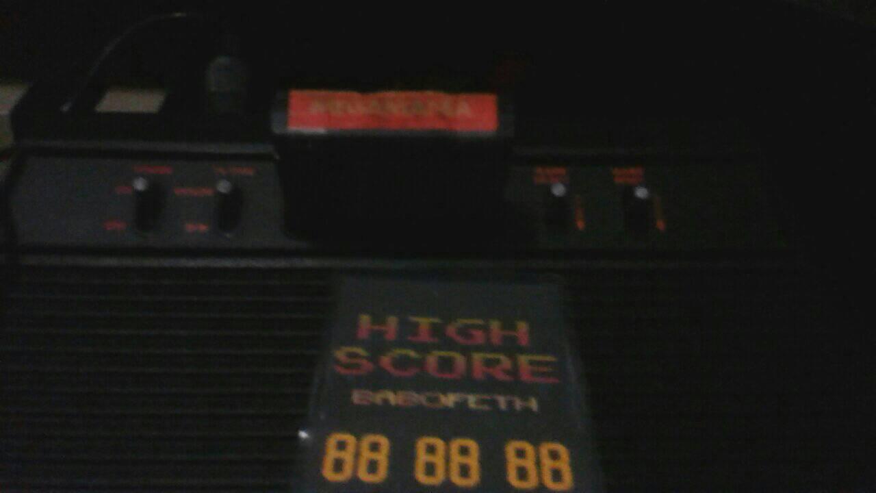 Megamania 107,710 points