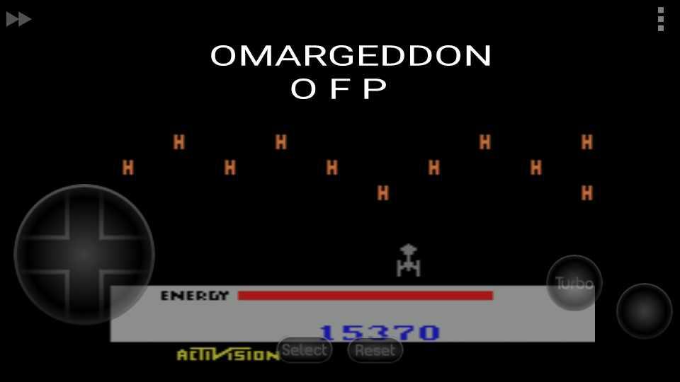 omargeddon: Megamania (Atari 2600 Emulated Novice/B Mode) 15,370 points on 2016-11-18 23:41:35