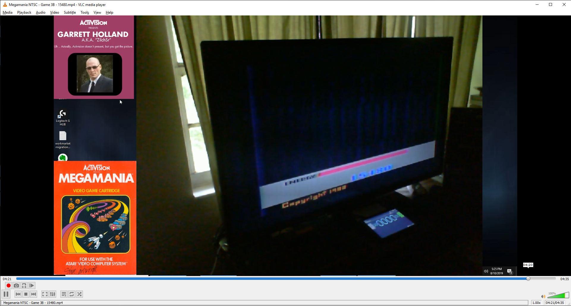 ZilchSr: Megamania: Game 3 [Straight Missiles] (Atari 2600) 15,480 points on 2019-08-10 16:30:35