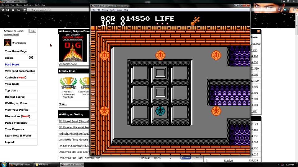 OriginalGamer: Meikyuu Jiin Dababa (NES/Famicom Emulated) 14,850 points on 2016-06-30 16:30:41