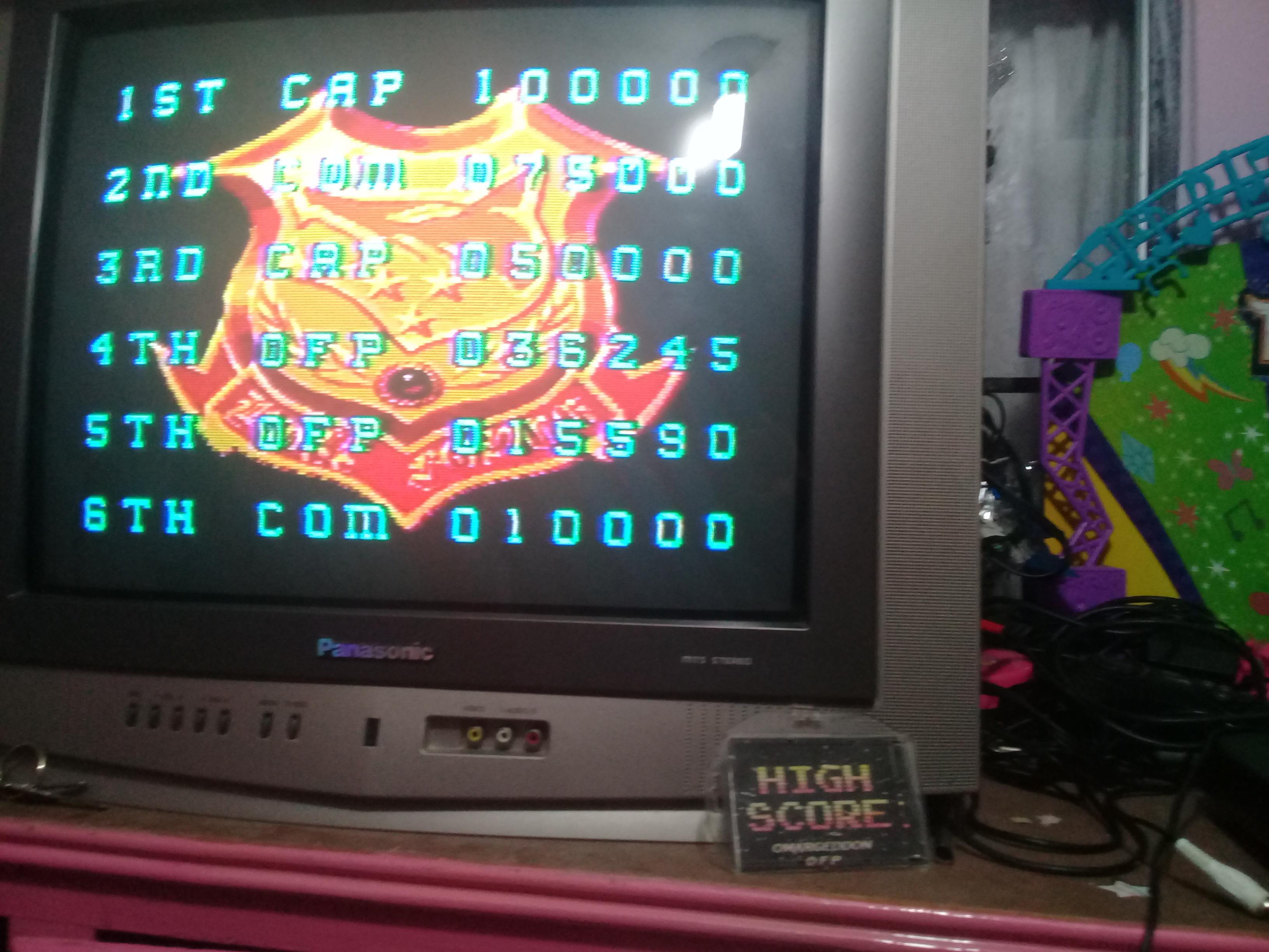 omargeddon: Mercs (Sega Master System) 36,245 points on 2019-01-12 18:52:47