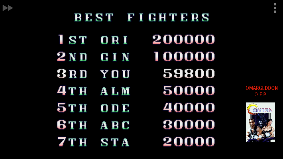omargeddon: Mercs / Wolf of the Battlefield II [Arcade/Normal] (Sega Genesis / MegaDrive Emulated) 59,800 points on 2017-09-25 22:43:00