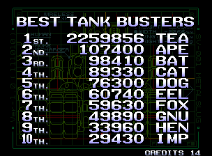GAMES: Metal Slug 3 (Neo Geo) 2,259,856 points on 2020-02-23 08:13:40