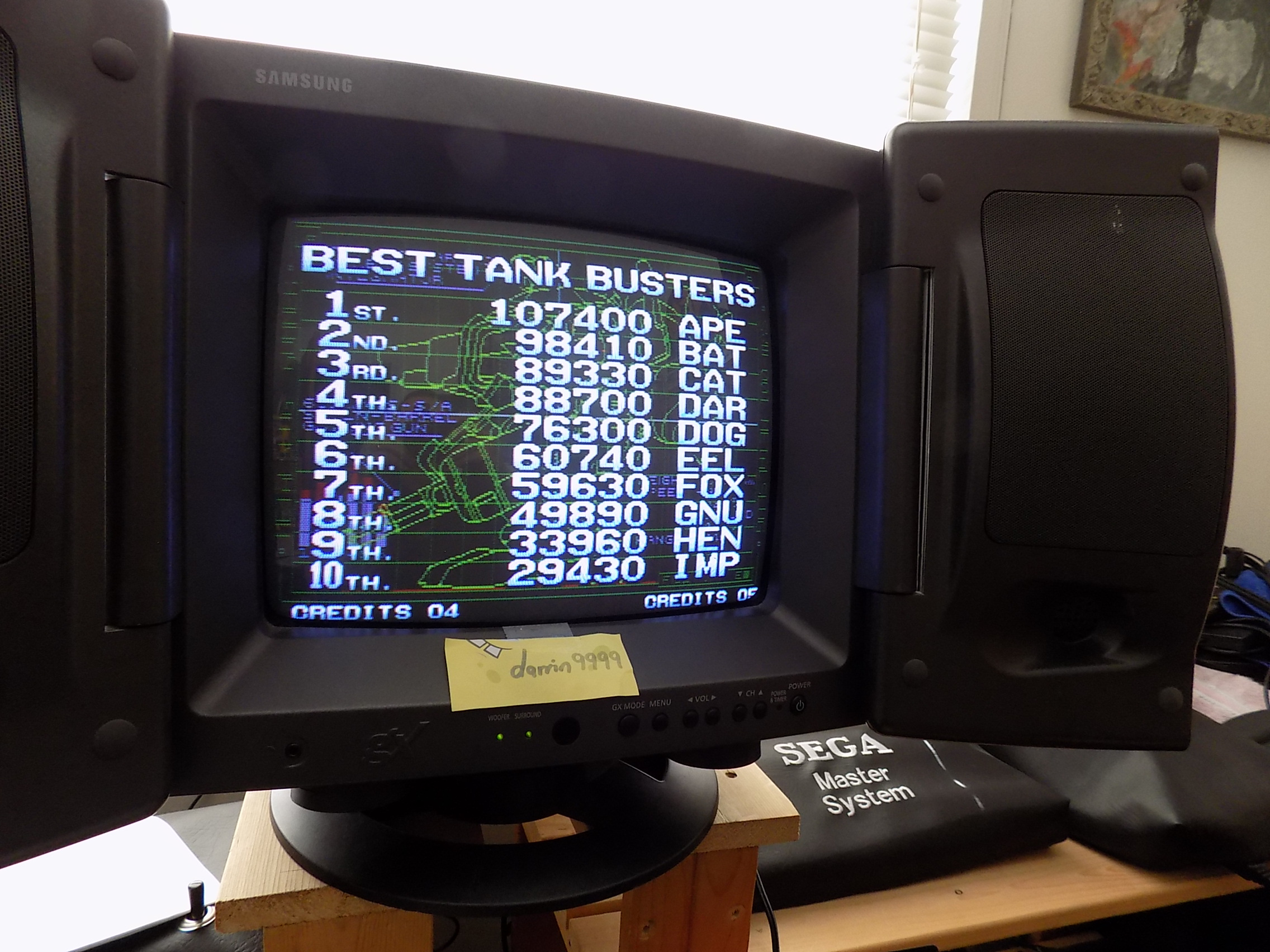 Metal Slug 5 88,700 points
