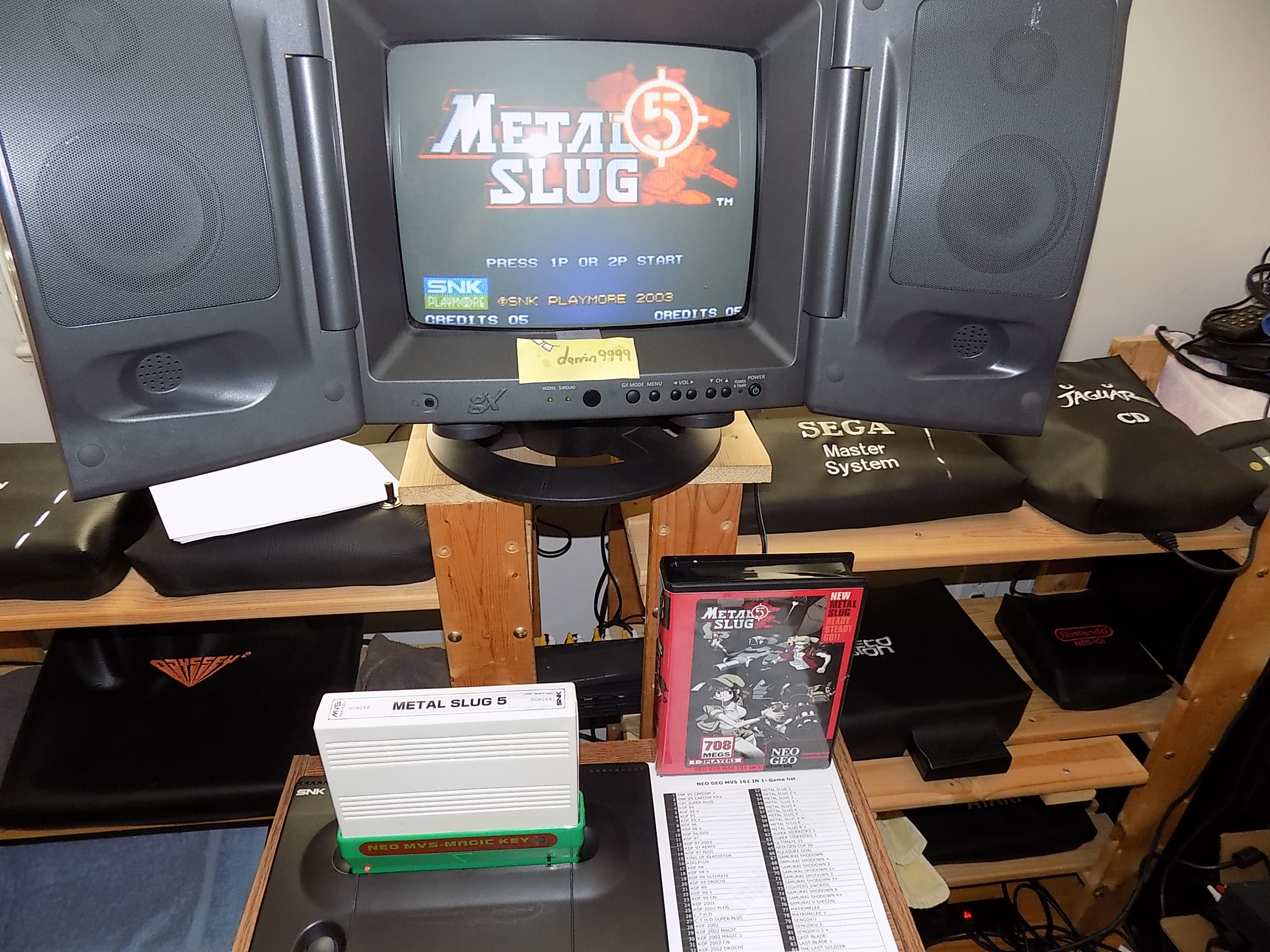 darrin9999: Metal Slug 5 (Neo Geo) 91,800 points on 2018-08-21 17:05:23