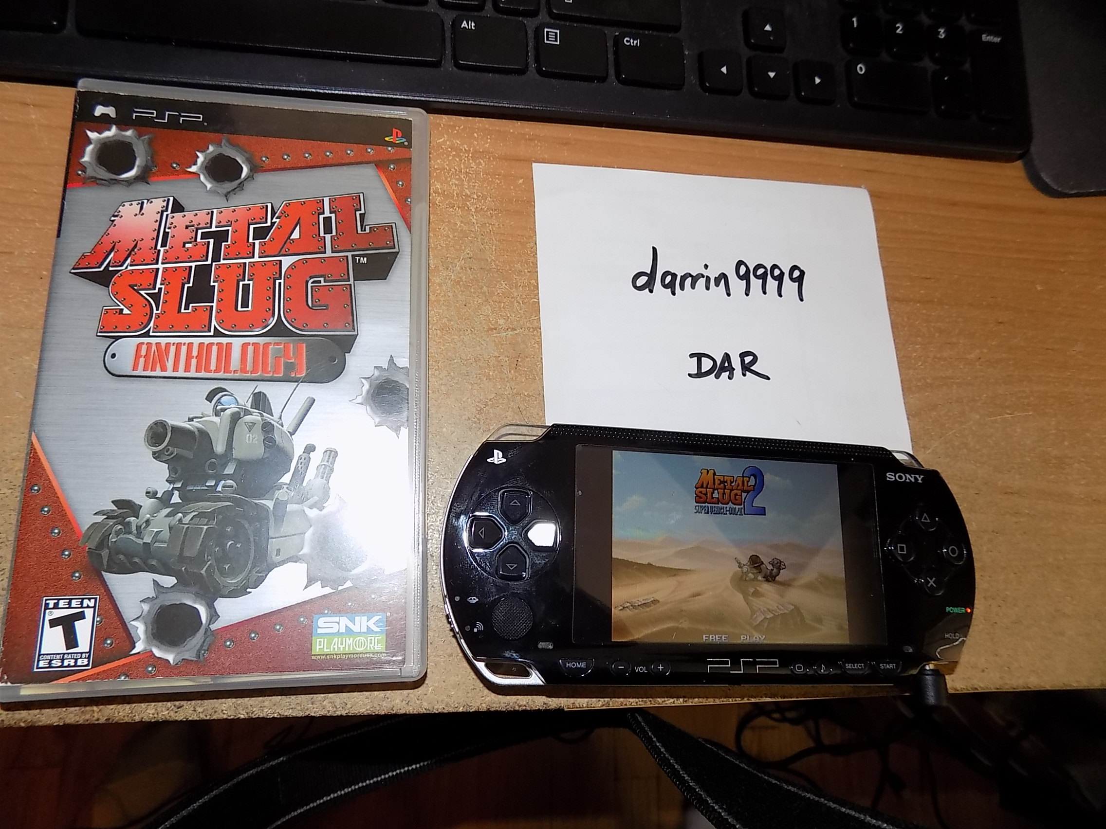 darrin9999: Metal Slug Anthology: Metal Slug 2 (PSP) 24,900 points on 2018-09-14 15:34:45